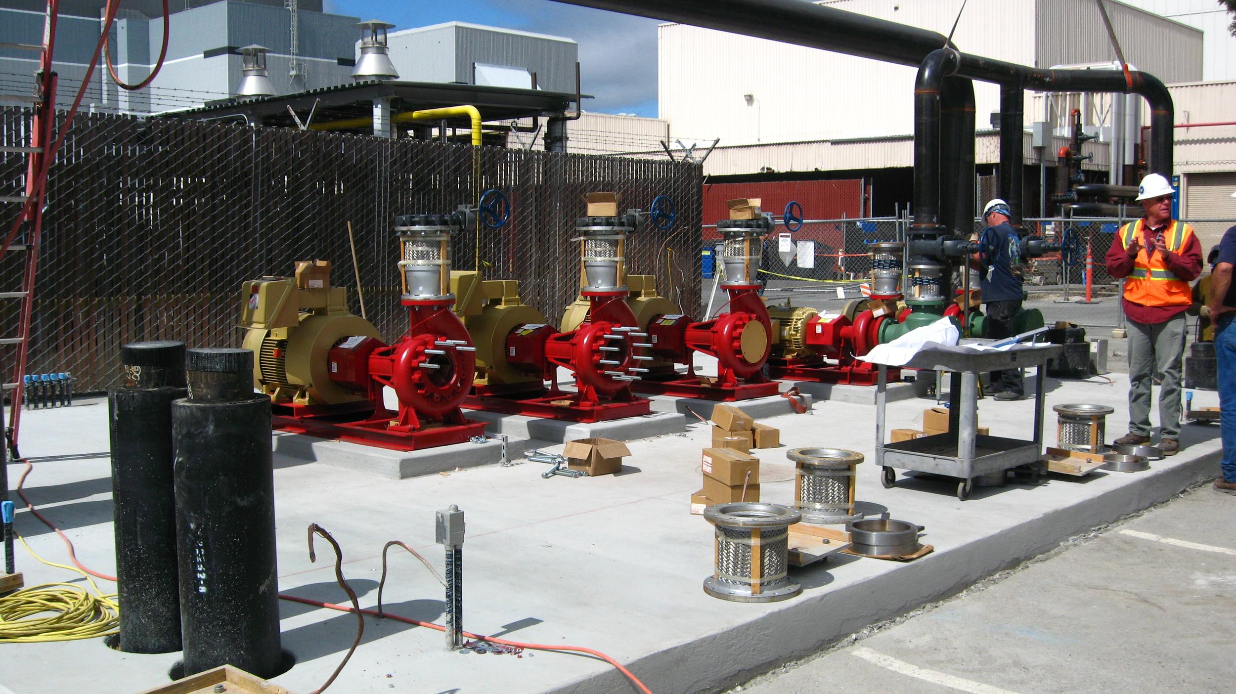 Hydronic pumpsat LMSS