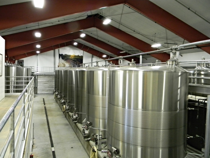 Tanks completed at Robert Hall Winery