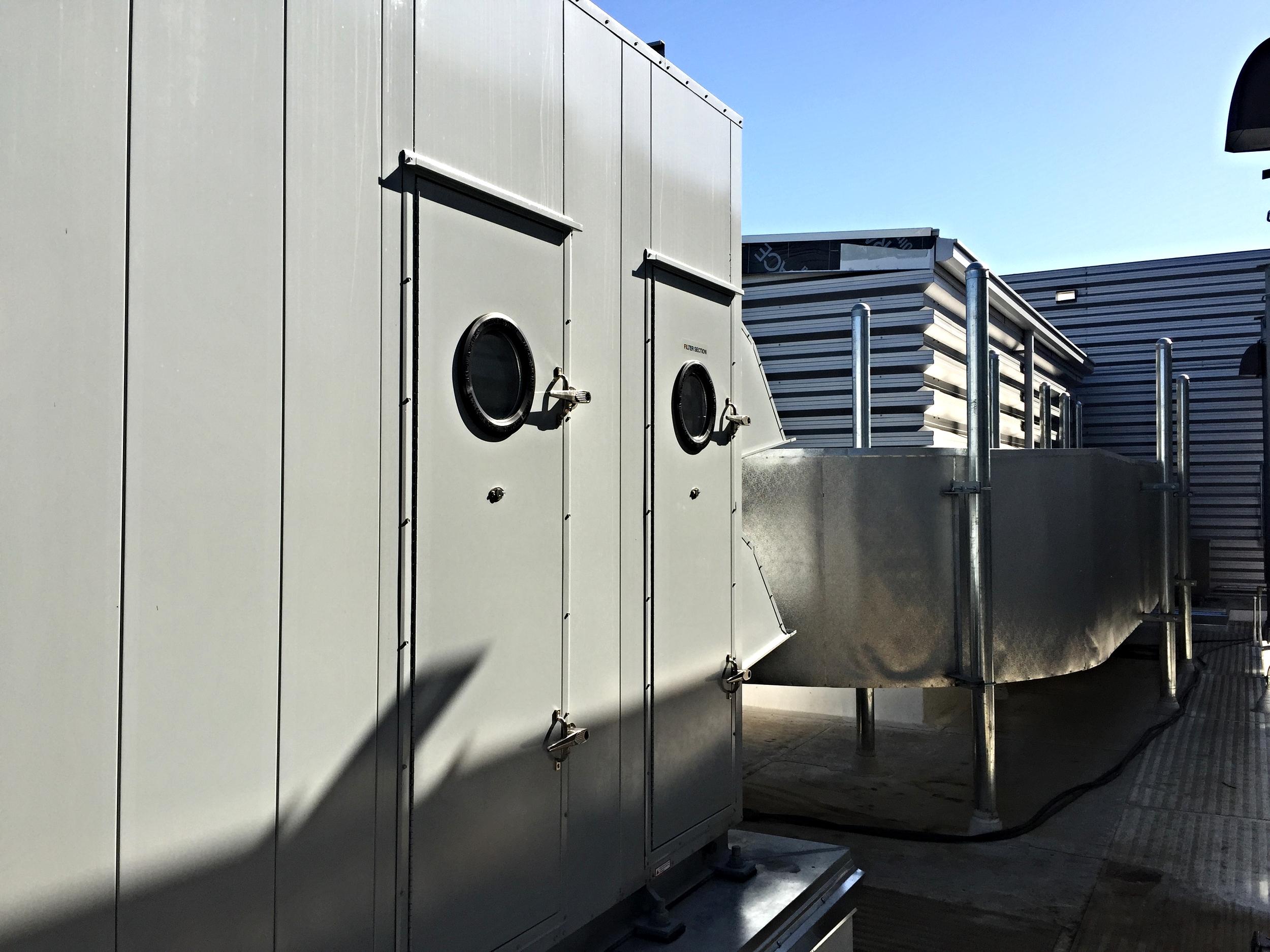 HVAC system at San Jose Downtown Health Center