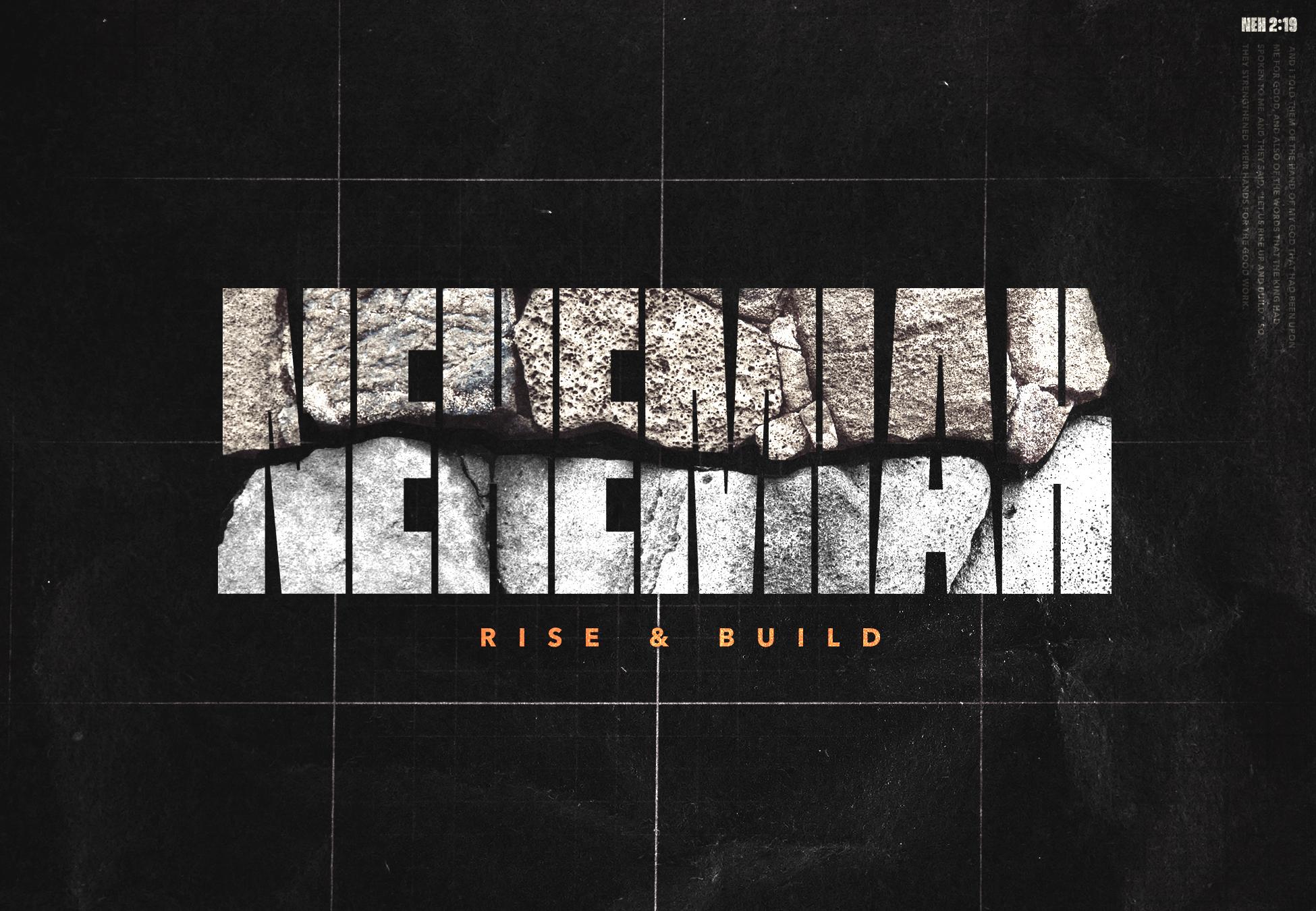 Nehemiah - Week 1    Nehemiah - week 2    Nehemiah - Week 3