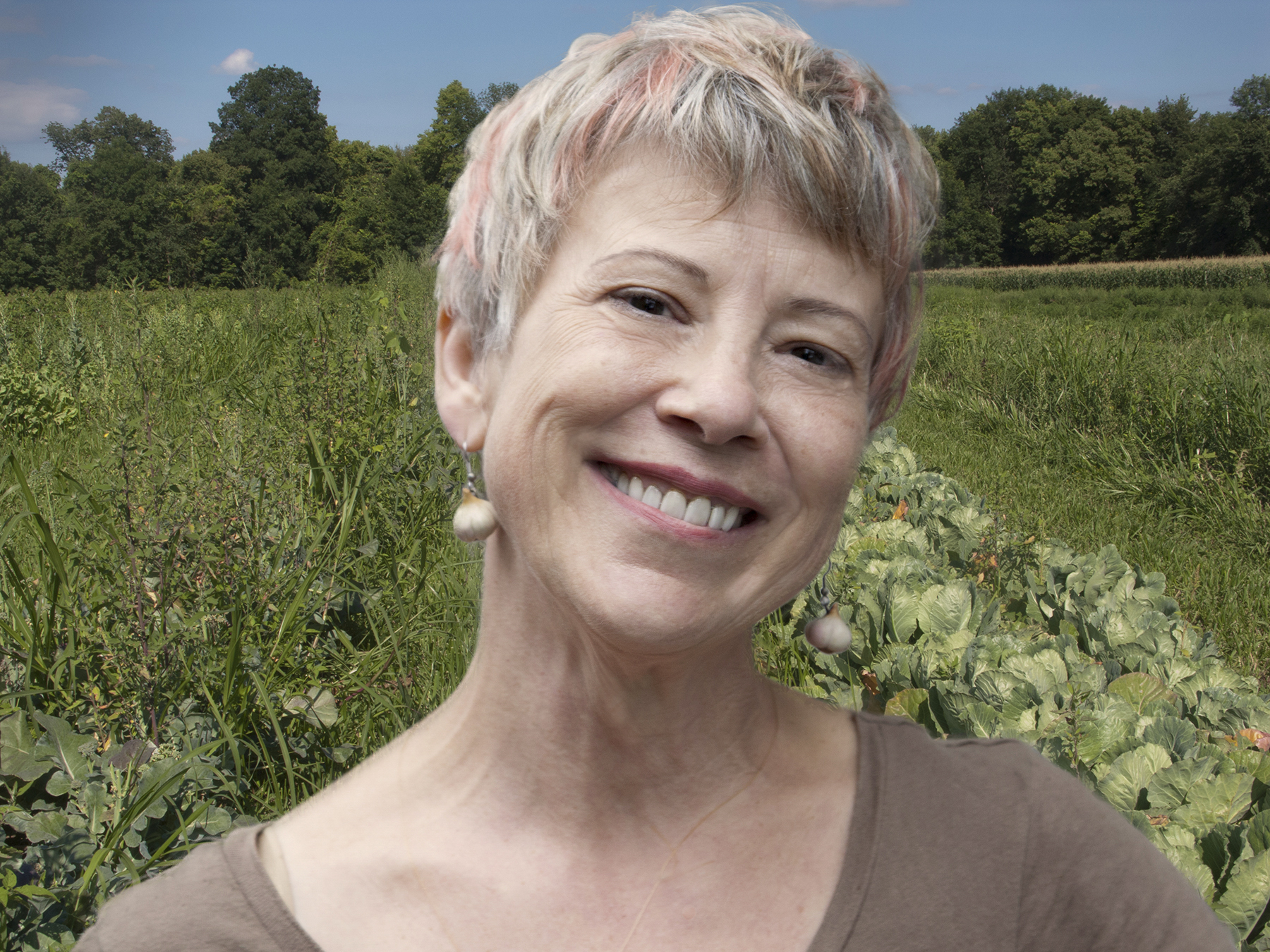 Author, artist and local food activist maria reidelbach.    Click here    for hi-rez. Photo by trix rosen.