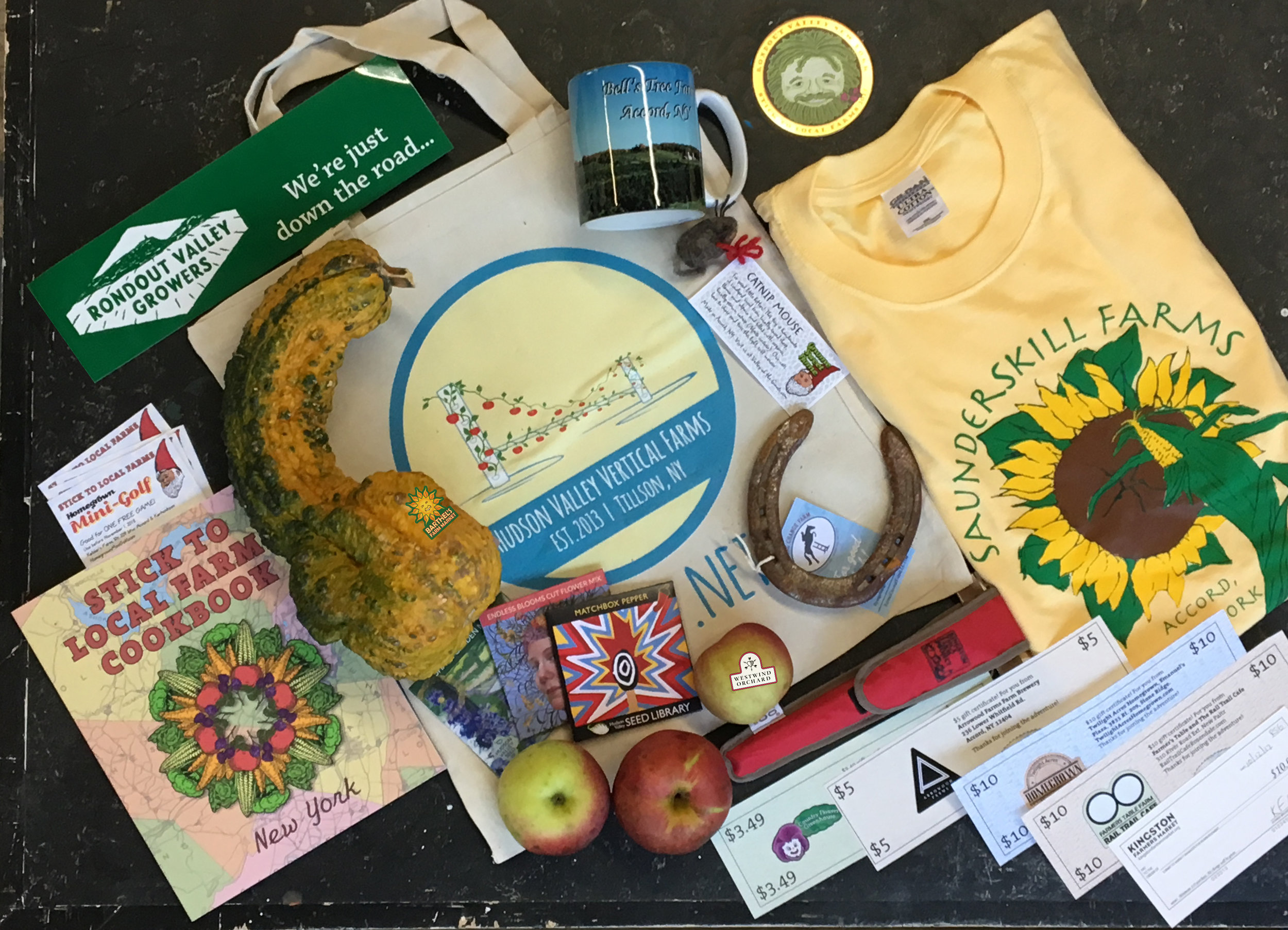 Collect 25 stickers and get a fabulous goodie bag. Here is a market bag awarded in 2017.  every market bag award will be a different surprise!