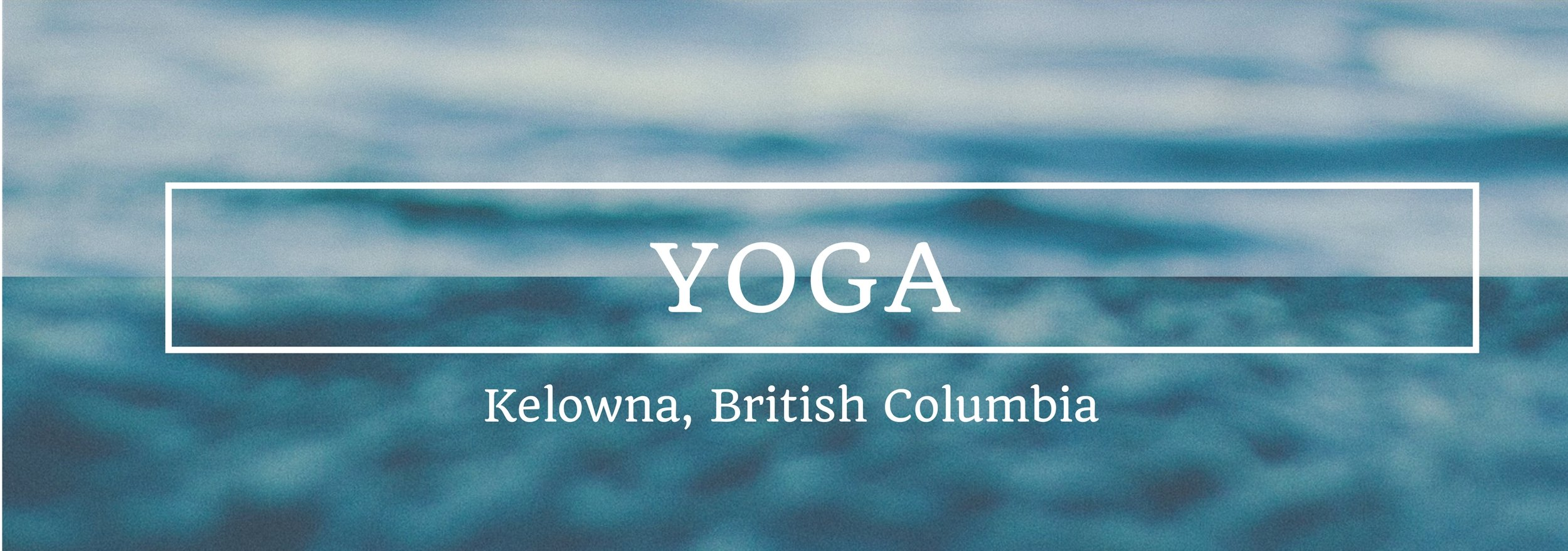 Yoga classes in Kelowna
