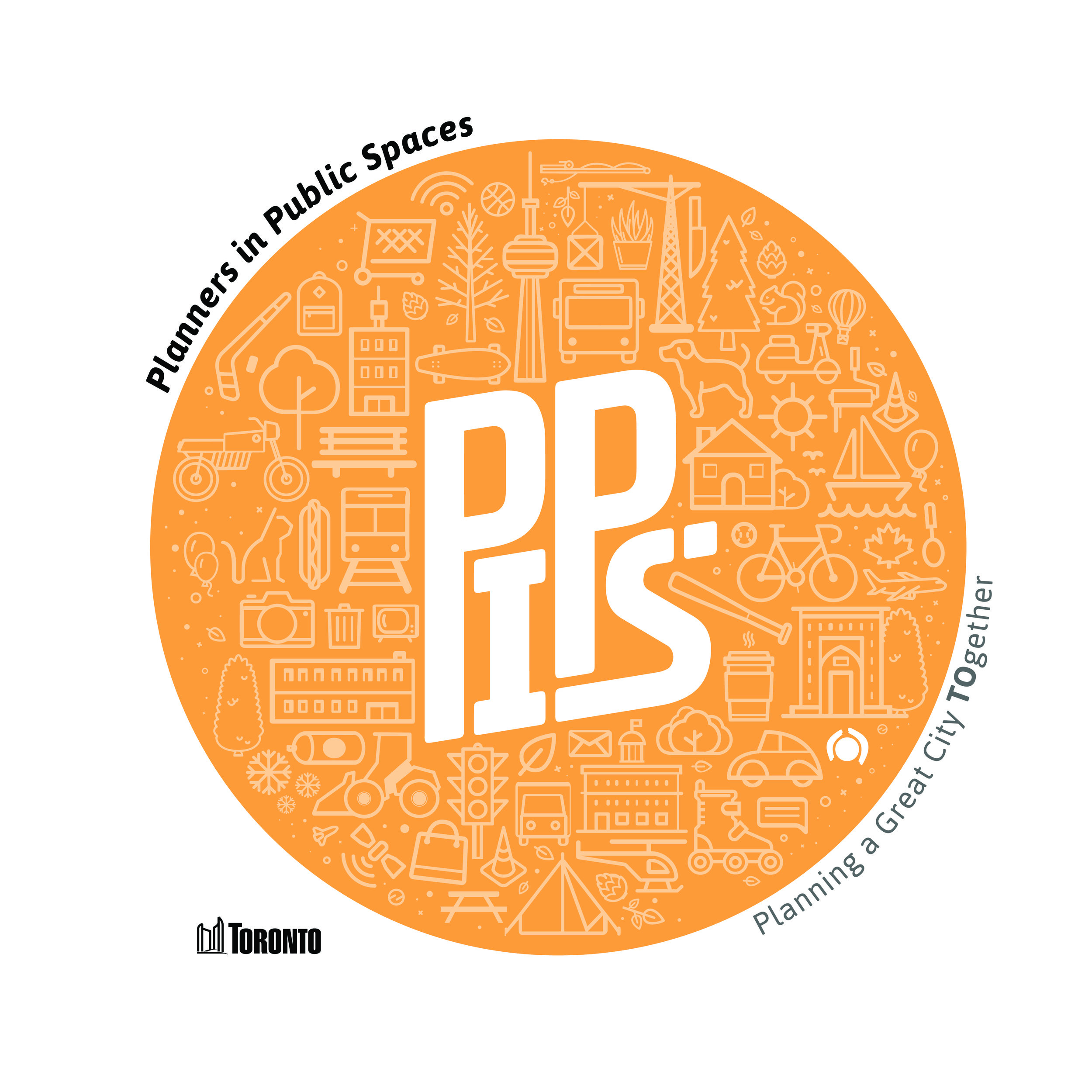 People in Public Spaces (PiPS), Logo Designs