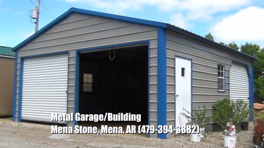 Metal Garages and Portable Buildings