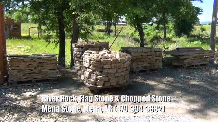 River Rocks, Flag Stones, & Chopped Stones
