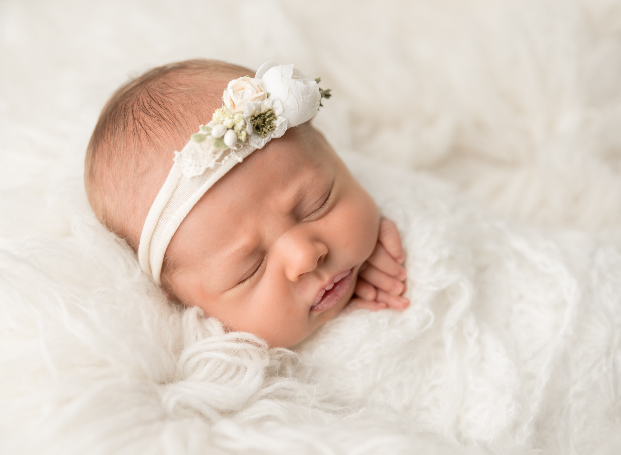 Posed Newborn Girl