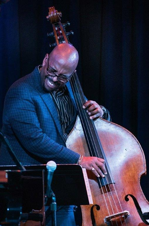 Christian McBride playing the newly restored Kuumbwa House bass!