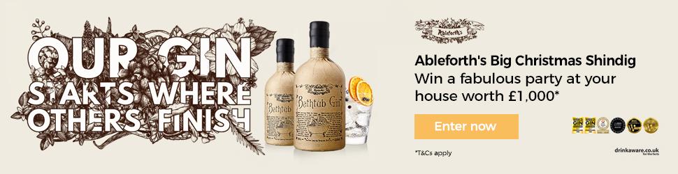 Ableforths Bathtub Gin billboard creative