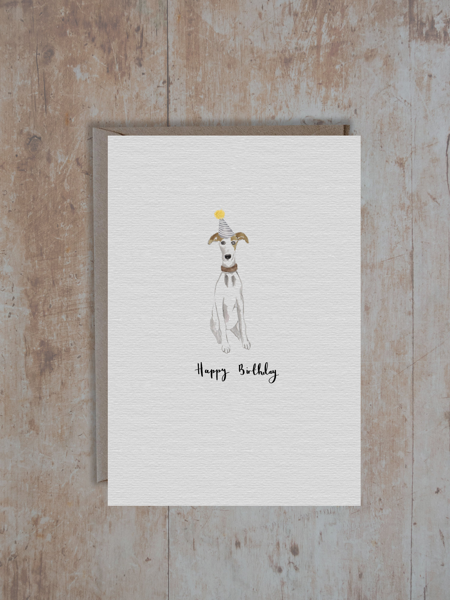 whippet card -