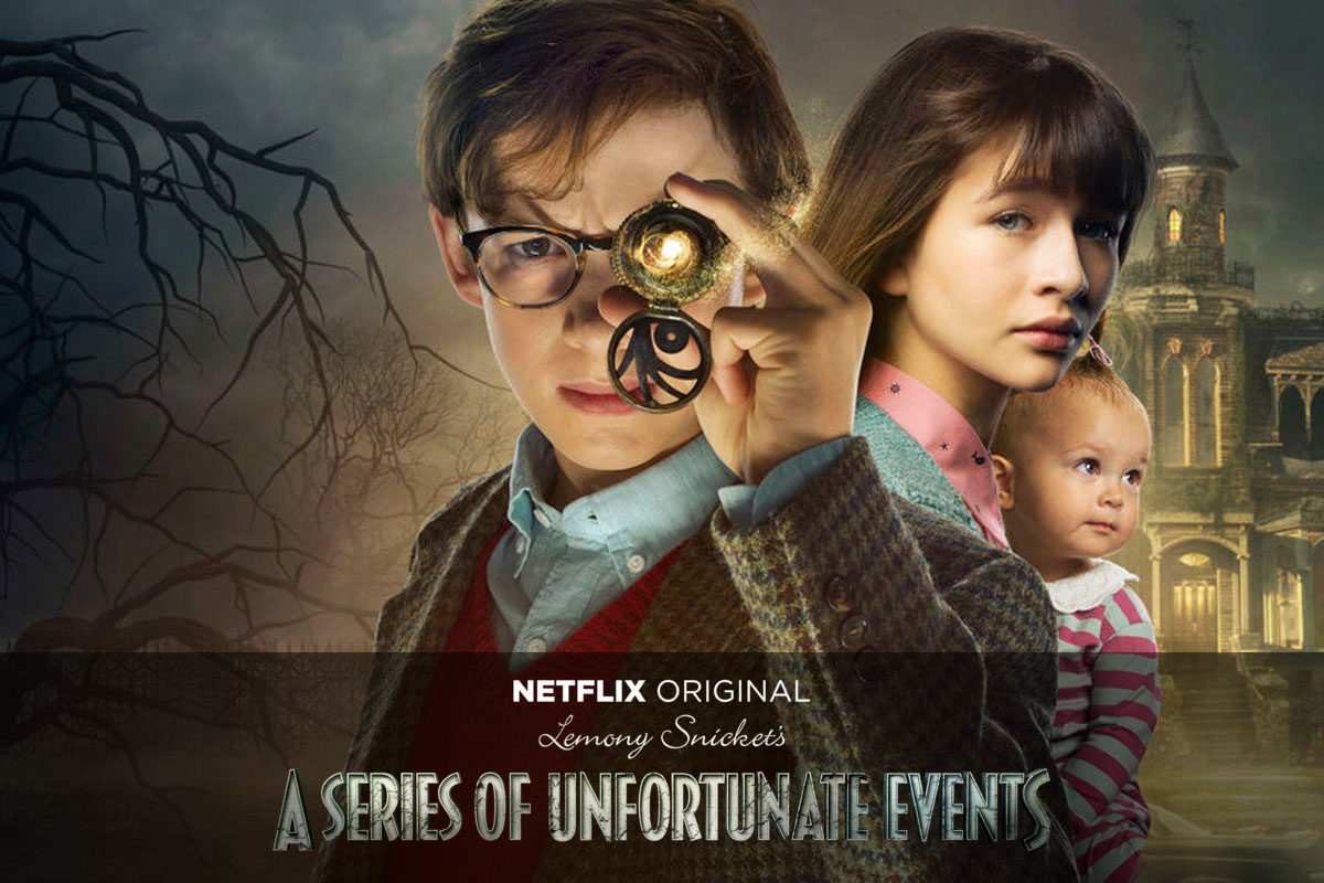 lemony snickets a series of unfortunate events - Most of us will probably be familiar with the Lemony Snicket books and movies but possibly not the newly released Netflix original series. The first season was released last year and I was absolutely obsessed with it and got through it in a weekend and I'm currently making my way through the second season at a little bit of a slower pace. The show is an adaptation of the books so quite different to the film but it's absolutely incredible. It's by far Neil Patrick Harris's best performance and he truly makes the show what it is.