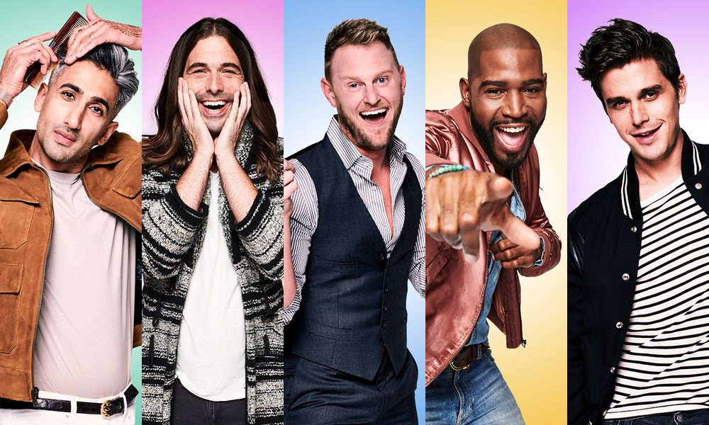 queer eye - It baffles me that I've never mentioned Queer Eye in a post yet but apparently I haven't. A new version of the 90's classic was released earlier in the year and I'm pretty sure everyone who watched it instantly fell in love with it. And with good reason too, it's a show about the Fab 5 who get recruited to make over men and it's just pure viewing gold. It's not only seriously entertaining but it also works at breaking down those age-old nonsensical stereotypical thoughts that men don't care about their appearance when they do and it does matter to so many men.