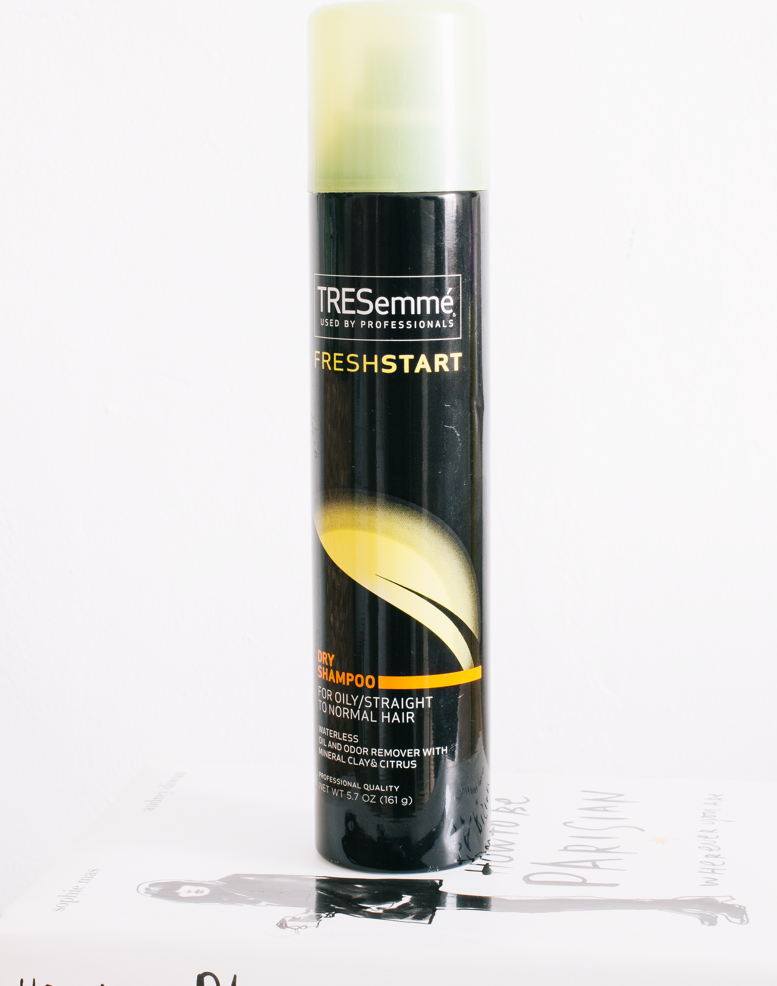 tresemme fresh start - This is a budget dry shampoo that I've used on and off for years. I will say, it's not my favourite affordable option but it's a good one none the less. My most loved budget option, by the way, are Co-Lab dry shampoos, so many scents and they work perfectly on my hair. This is something I use at night when I know my hair is getting ready for a wash but I don't have time. I spray it on liberally and leave it to absorb overnight, I find by using it this way I get the most out of the product as it's not something I find suitable for a quick spritz before styling as it can be a little heavy. You do have to be careful when using too much of this as it can leave a slight white tinge, nothing too bad but it's still there.