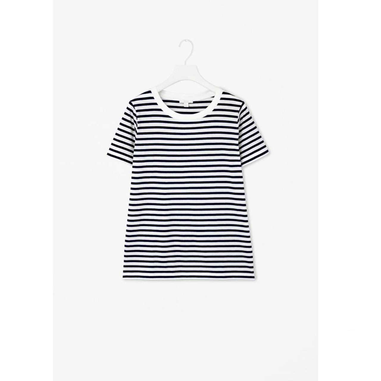 striped cos t-shirt - Another striped item, shocking. I put this classic striped t-shirt from COS into my drawers as more of a loungewear piece as I didn't find myself wearing it all that much but I've pulled it out a few times lately and fallen back in love with it. For a COS item, it's super affordable and still something that they sell now, the quality is perfect for a t-shirt as it's weighty enough to hold its shape but it's not too heavy that you're not able to wear it in the heat. I love this paired with denim shorts and Converse and with a paired of tailored shorts it would work beautifully for a smarter look.