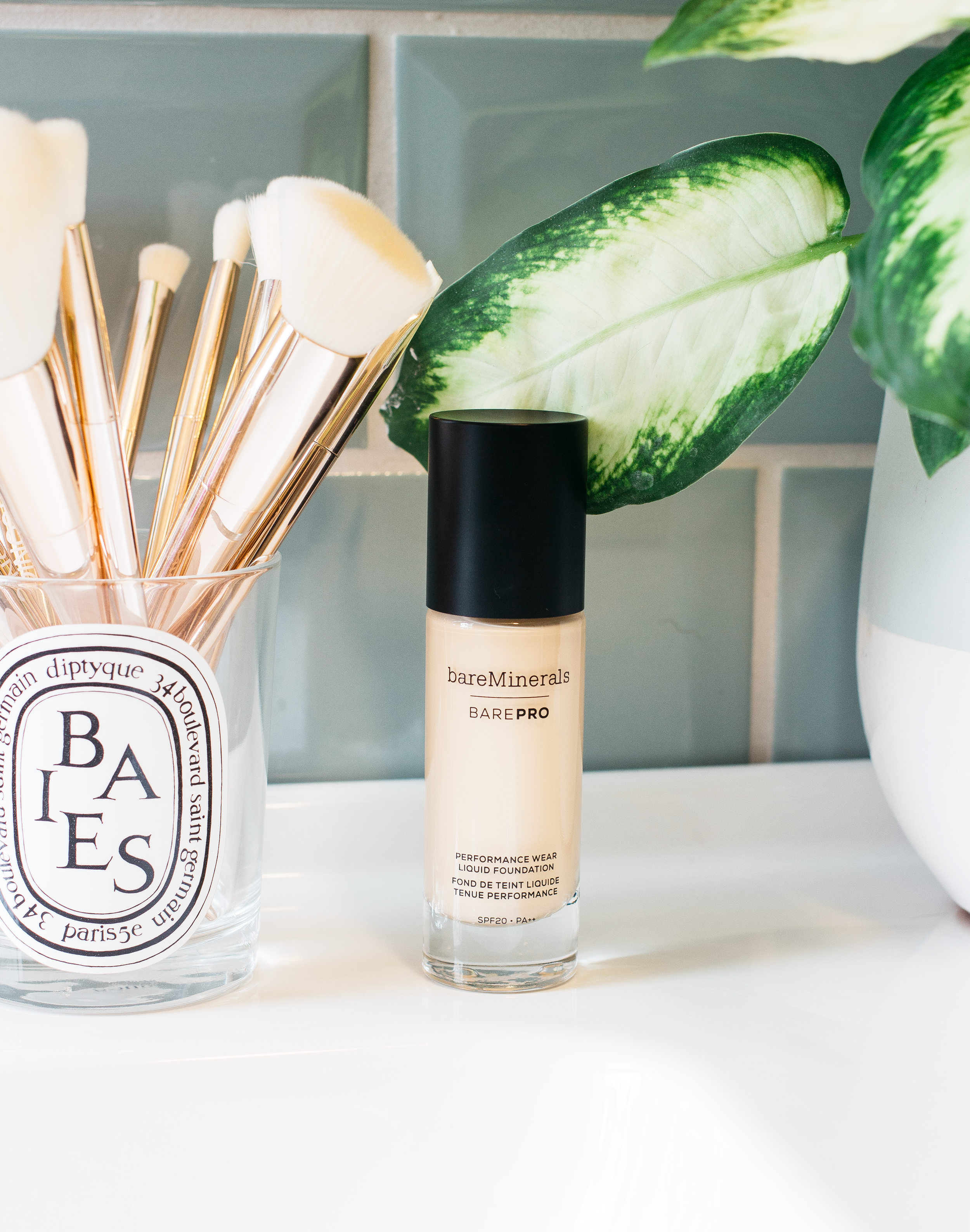 bareminerals barepro foundation* - Another soft matte finish foundation, what can I say they really are the best for photographs! At first, I didn't get on with this base at all but that was all down to my application method, I find a nicely domed brush is what works the best for this and waiting a minute or two before applying any other products so it can settle down. It's very natural and maintains a skinlike finish which doesn't lean in any type of direction, if you've used bases like the L'Oreal True Match then it's very similar to that but fuller coverage. It doesn't budge or transfer which is something I look for in my bases as a glasses wearer there is nothing worse than half of your foundation rubbing off around your frames and it doesn't crease either. It wears beautifully throughout the day and even when it does start to wear (we're talking well into the evening) then it does so evenly so you're not left looking patchy in the evening.