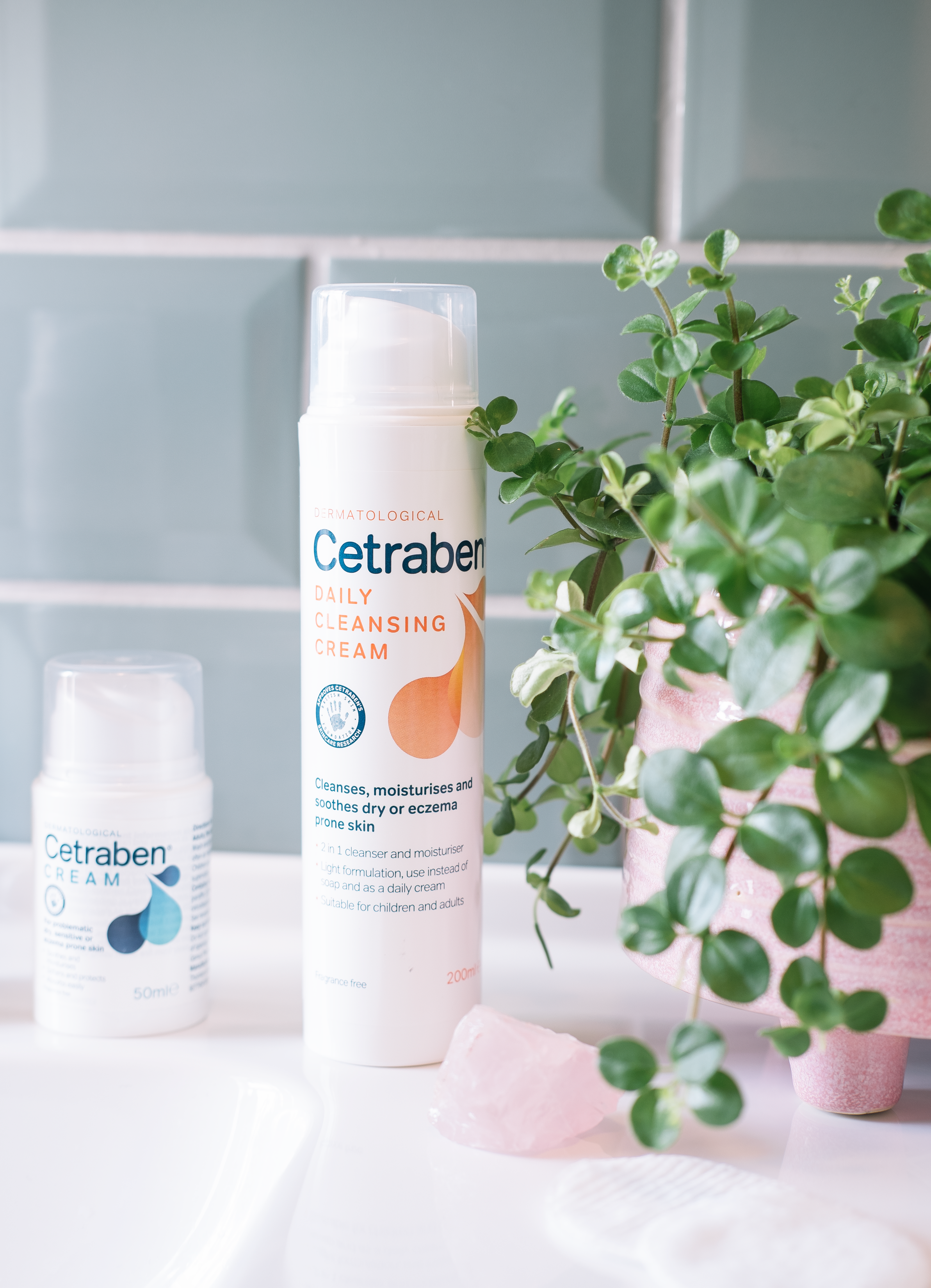 Cetraben daily cleansing cream - For my second PM and AM cleanse this is what I've been using and it's been making my skin extremely happy. My complexion is going through some changes at the moment, it's typically a little more oily in the warmer months but due to the weather being all over the place things are feeling pretty dry and lack lustre as the temperature is all over the place which always disrupts my skin's balance. This lovely cream cleanser is a two in one but I prefer to use it as a cleanser and it's brilliant for after I've removed the bulk of my makeup to get off any last remnants of product hanging around as well cleansing without stripping it of any moisture. Once everything is removed my skin feels clean but undeniably soft which can be rare with a lot of products. As of right now, my complexion isn't too spot prone but when the scheduled one pops up around that time of the month this has been brilliant as it's incredibly kind to the breakout because it's been formulated to soothe eczema-prone skin. A brilliant cleanser if you're a little more sensitive and do struggle with problematic areas.