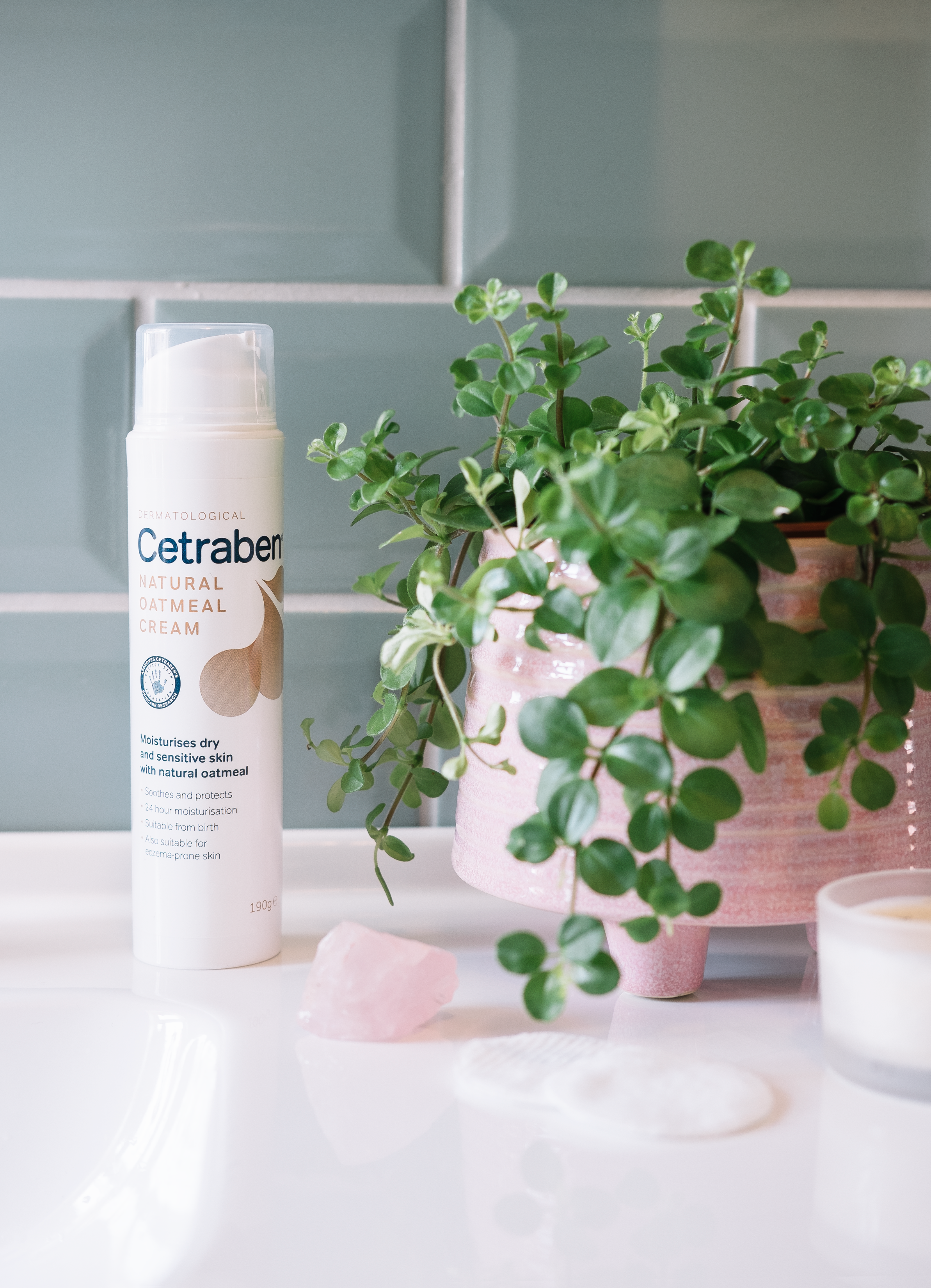 cetraben natural oatmeal cream - I'm sure like many others right now I'm shaving far more frequently than I do the rest of the year. And I love the feeling of freshly shaved legs but something I can struggle quite a lot with is ingrown hairs and shaving rash despite treating the skin as well as I can beforehand they can still be issues for me. This natural oatmeal cream has been my absolute saviour with more frequent shaving as not only does it leave my limbs feeling silky smooth but this helps so much with any problematic areas. So often moisturisers can sit on top of the skin for a while but this sinks into the skin so quickly after being massaged in and my skin stays soft for the entire day after I've applied this in the evening. It's not heavily scented which is perfect if you're not a fan of scent in your body products.