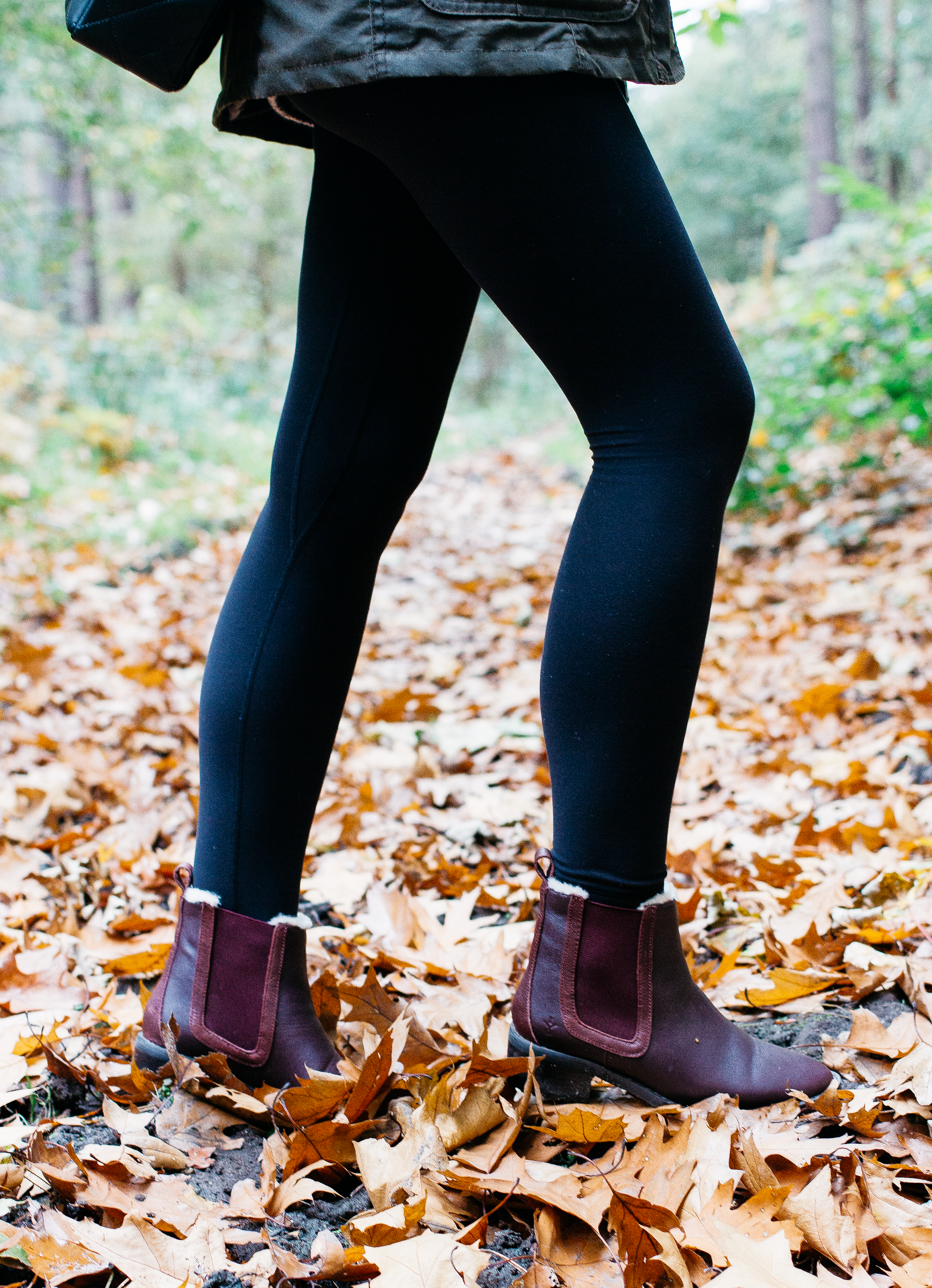 shearling lined boots - When Josie came into our lives and we started walking every single day I soon realised that I needed a good pair of warm boots. And anything lined with shearling fits the bill perfectly for me as I love how snug they are without the need for huge chunky socks. I have a couple of pairs that I like to rotate between, the burgundy pair in the photograph are from Emu (gifted) that I like to wear throughout Autumn on walks as well as whenever I'm nipping into the city as they're practical but look pretty smart too. The second pair comes from UGG (gifted from a paid partnership) that are my go-to for whenever its snowed or it's icy and they are the warmest pair of boots to ever grace my feet. They're in a military-style which is something that I always loved but worried they wouldn't be the most flattering on the leg but these are and oh so comfortable.