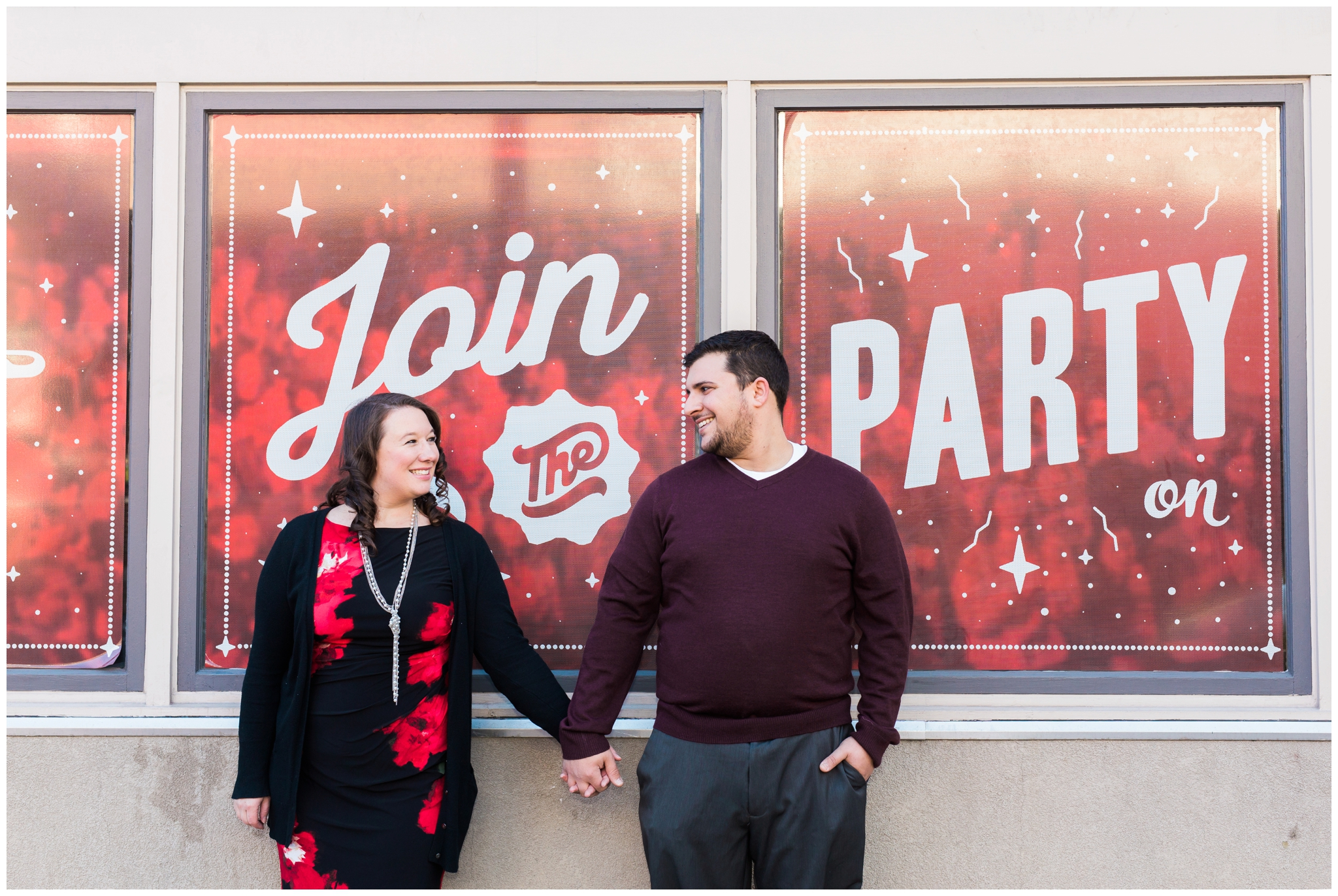 emily grace photography downtown lancaster engagement
