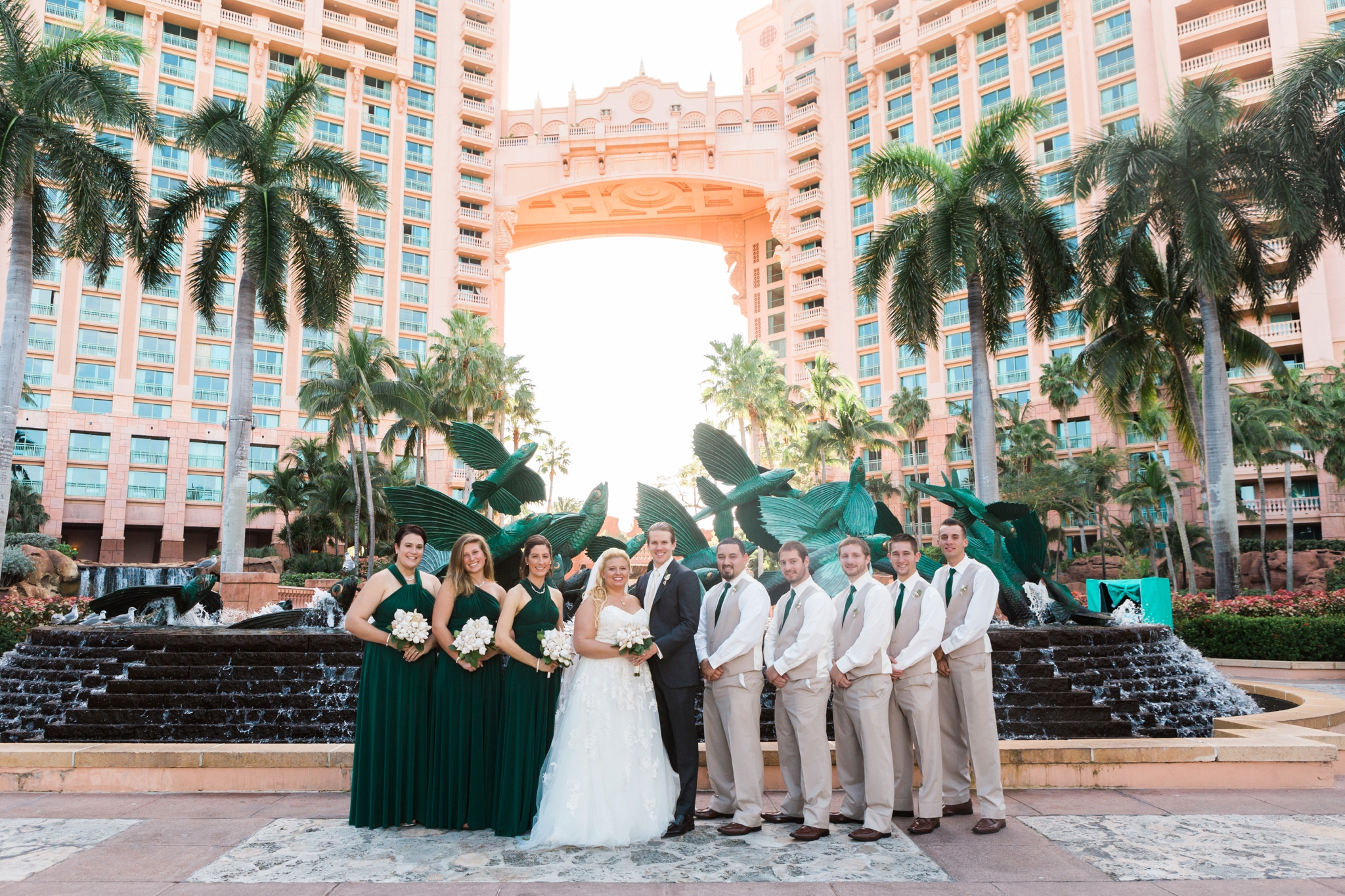 Emily Grace Photography, Bahamas Wedding Photographer, Atlantis Paradise Island Resort