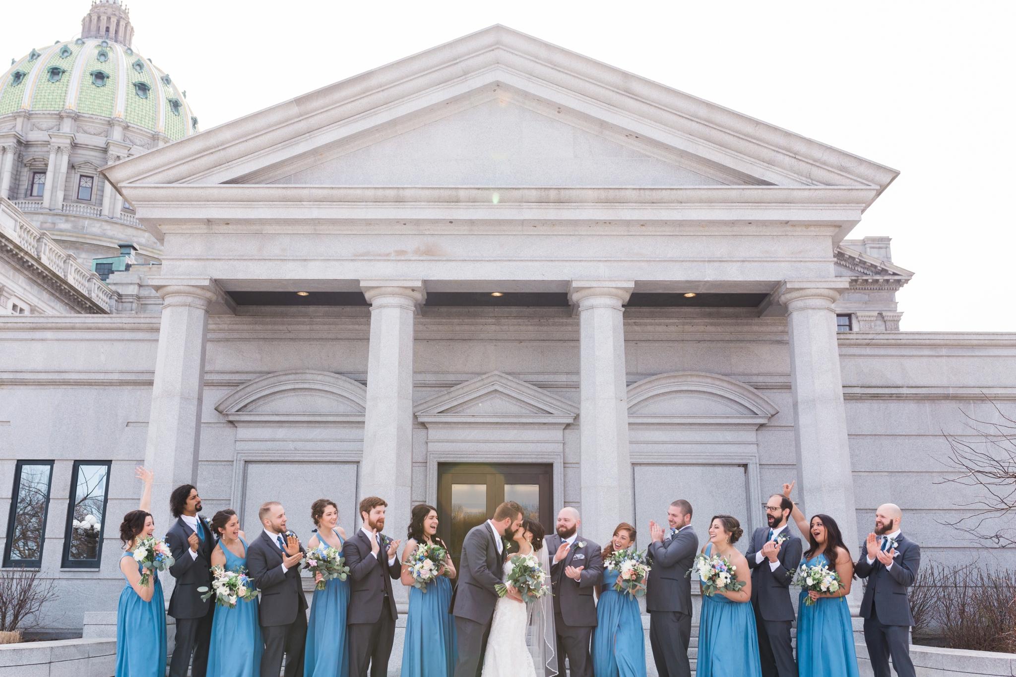 Emily Grace Photography, Harrisburg Wedding Photographer, Harrisburg Capitol Rotunda Wedding
