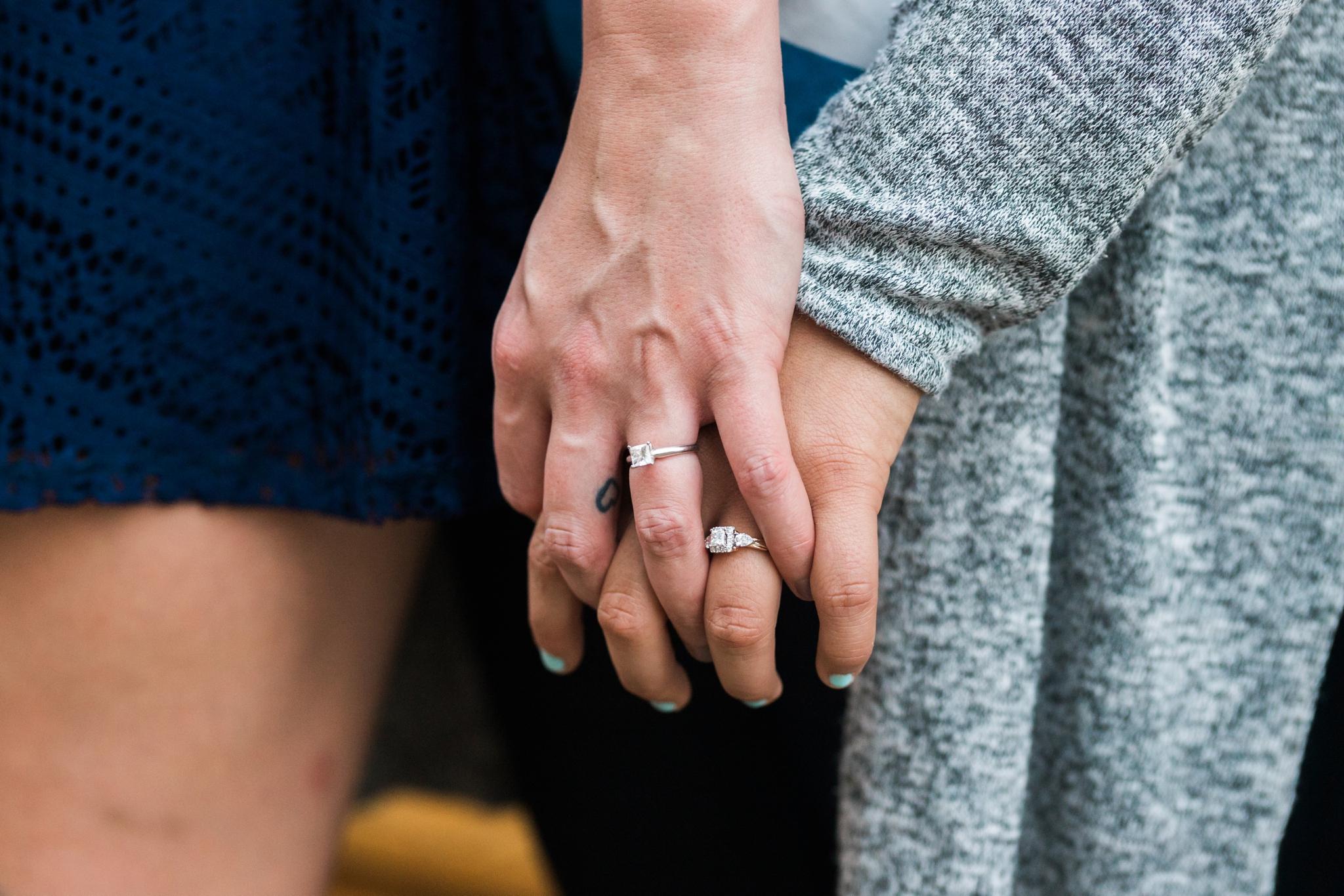 Emily Grace Photo, Lancaster, PA Same-Sex Wedding Photographer, Tellus360 Same-Sex Lesbian Engagement, Photo Session with Dogs