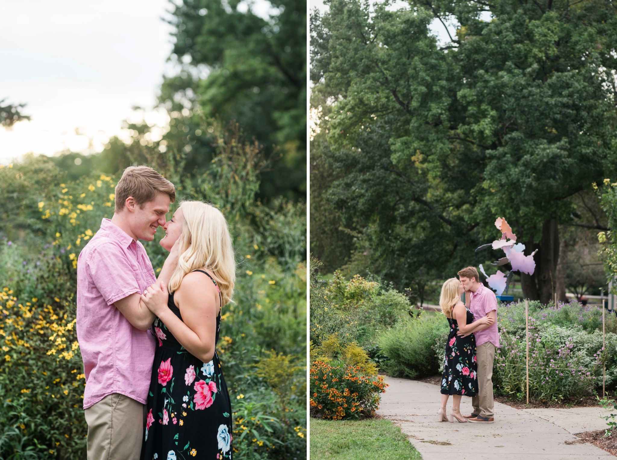 Emily Grace Photo, Lancaster PA Wedding Photographer, Millersville University Engagement Session