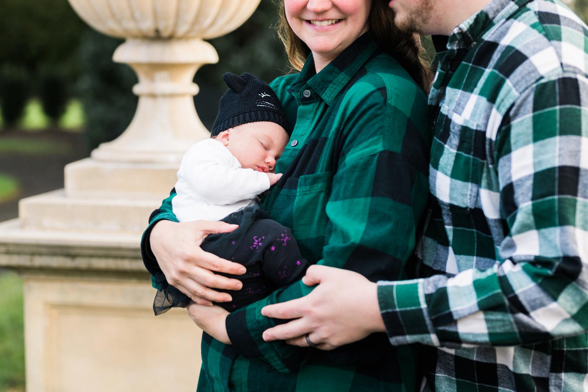 Emily Grace Photography, Lancaster PA Newborn Photographer, Masonic Village Portrait Session