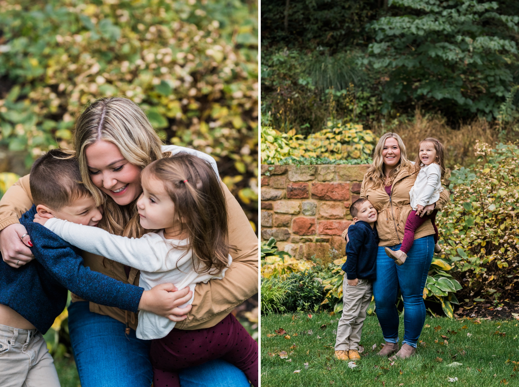 Emily Grace Photography, Lancaster PA Lifestyle Photographer, Fall Extended Family Portraits, Grandparents and grandchildren photos