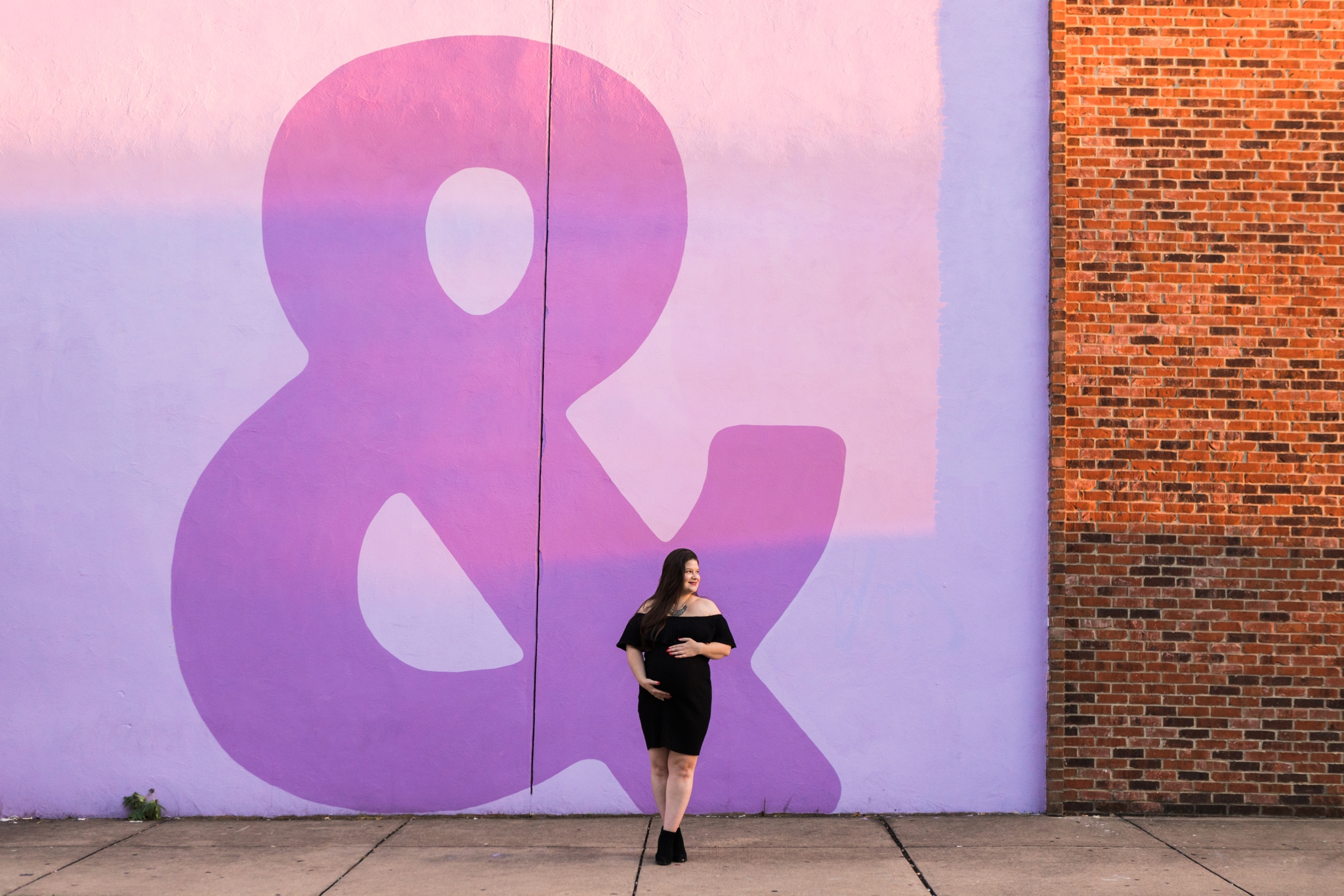 Emily Grace Photography, Uptown Harrisburg PA Lifestyle Photographer, Urban Maternity Session
