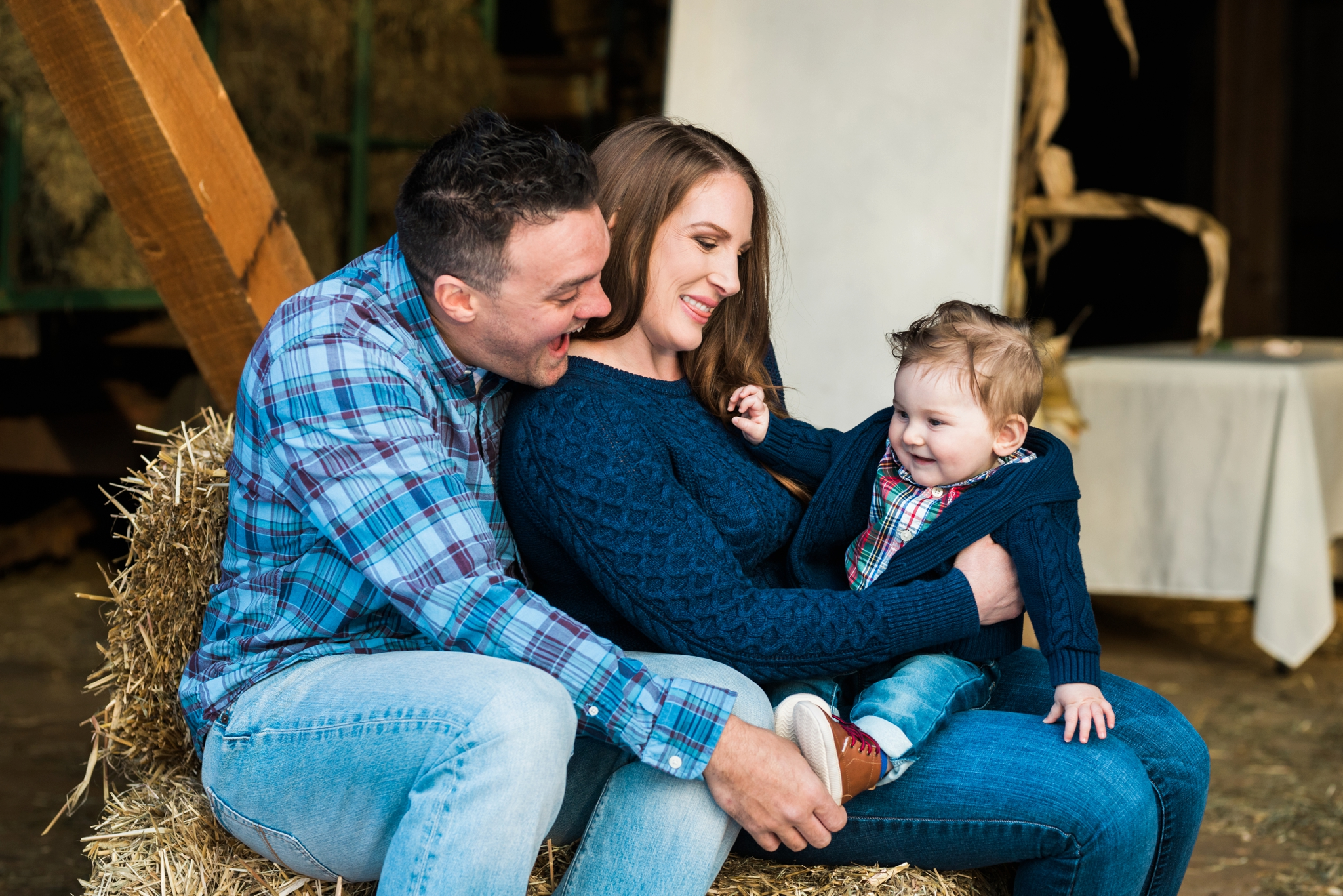 Emily Grace Photography, Elizabethtown Family Portrait Photographer, Rustic Barn Family Photos