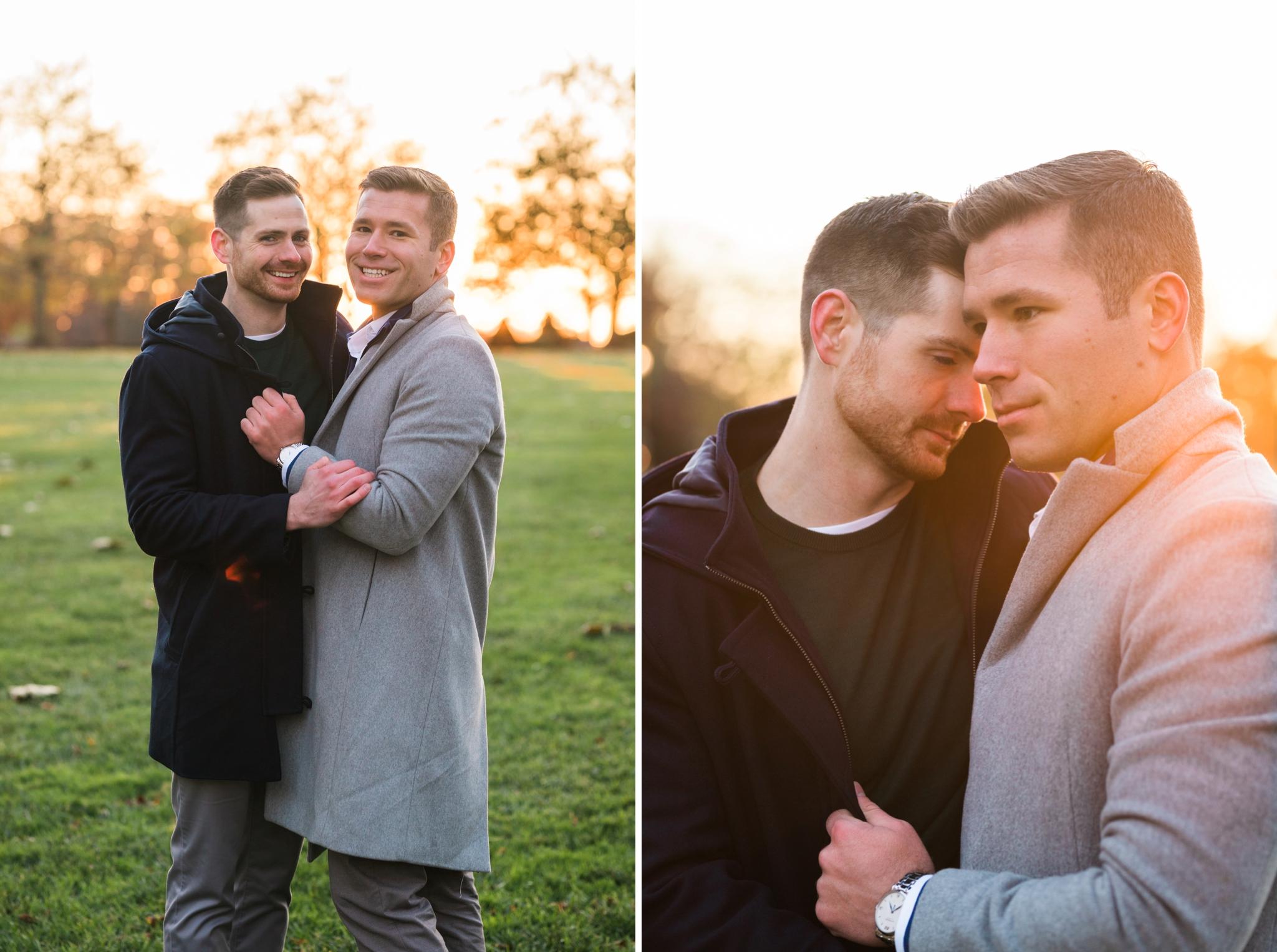 Emily Grace Photography, Lancaster PA Same Sex Wedding Photographer, Gay Engagement Session, Longwood Gardens Engagement Photos, Kennett Square PA