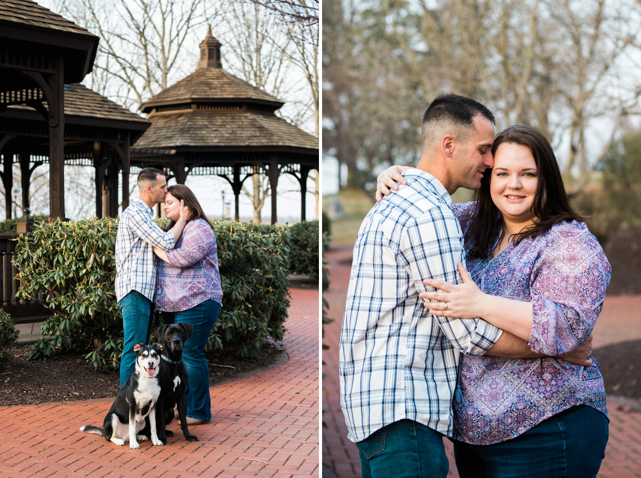 Emily Grace Photography, Elizabethtown Photographer, Founders Hall Hershey PA, Engagement Session with Dogs