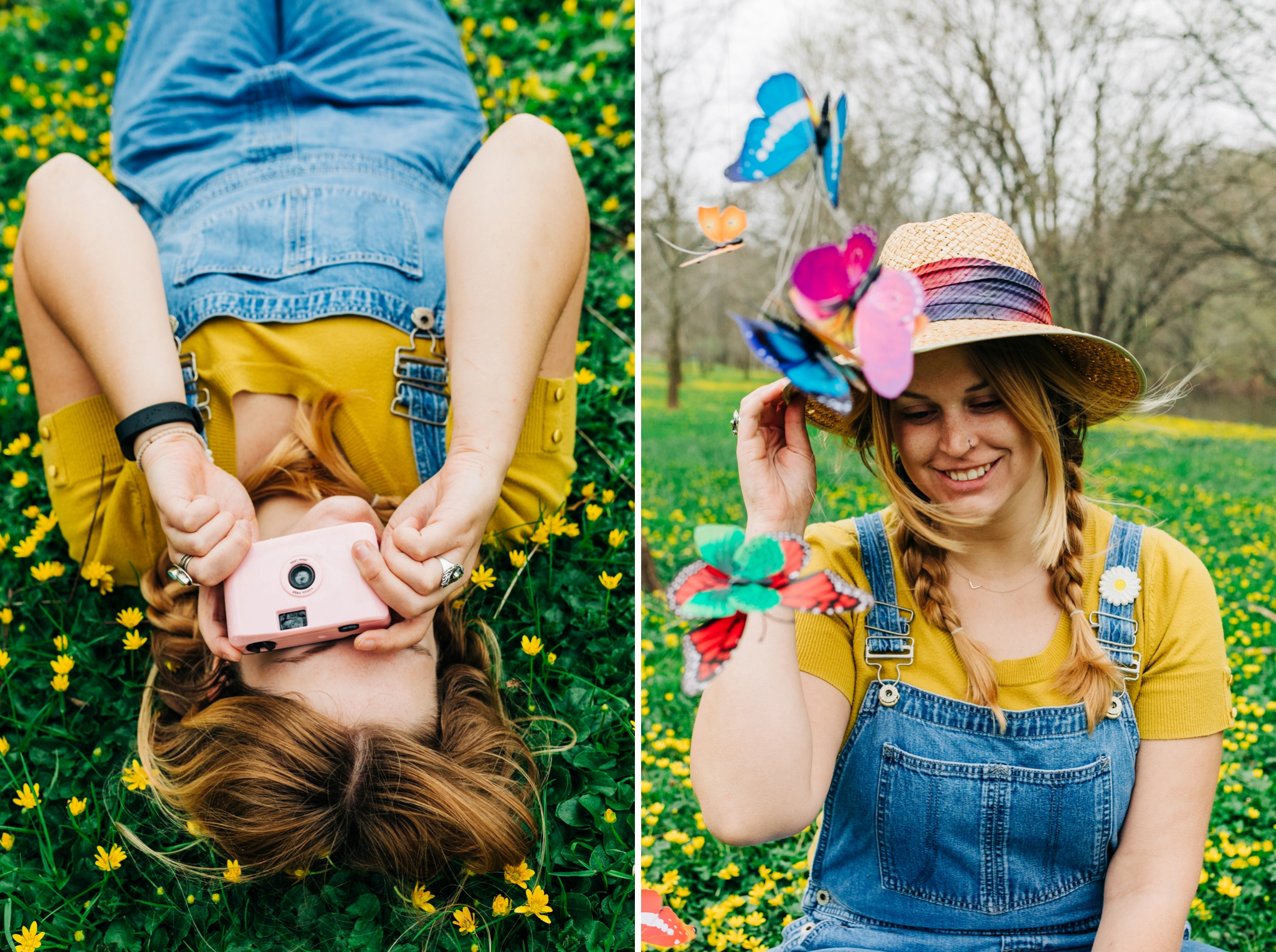 Emily Grace Photography, Lancaster PA Wedding Photographer for Adventurous Couples, Lancaster County Central Park Portrait Session, Spring Flowers in Bloom Photo Shoot