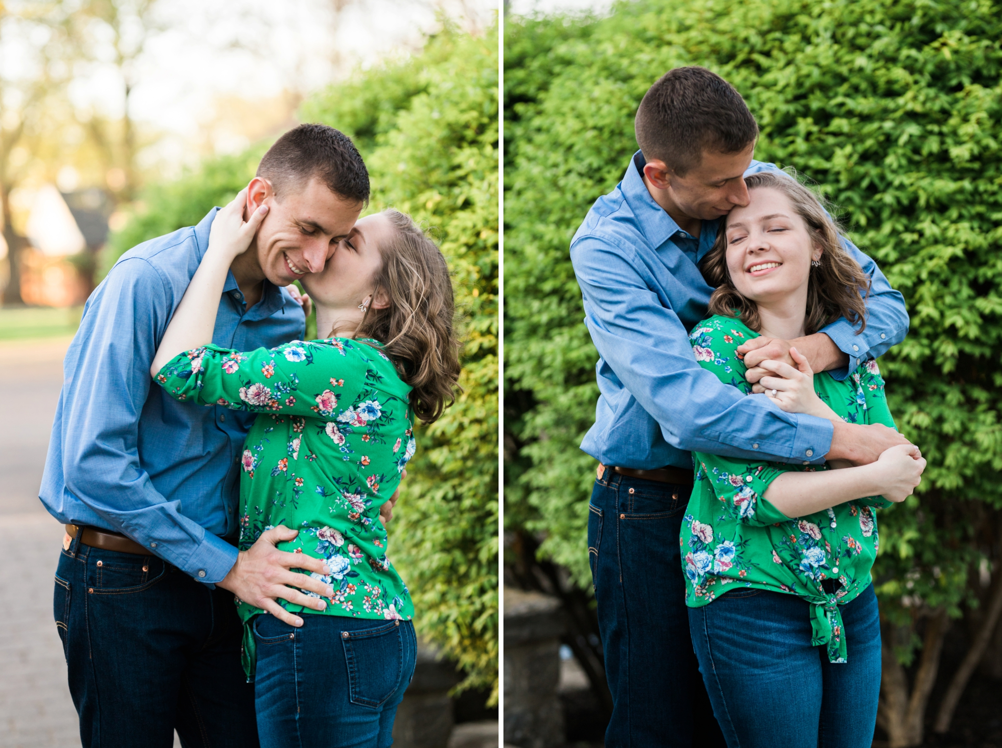 Emily Grace Photography, Lancaster PA Wedding Photograper for Non-Traditional Couples, Lititz Spring Park Engagement Photos