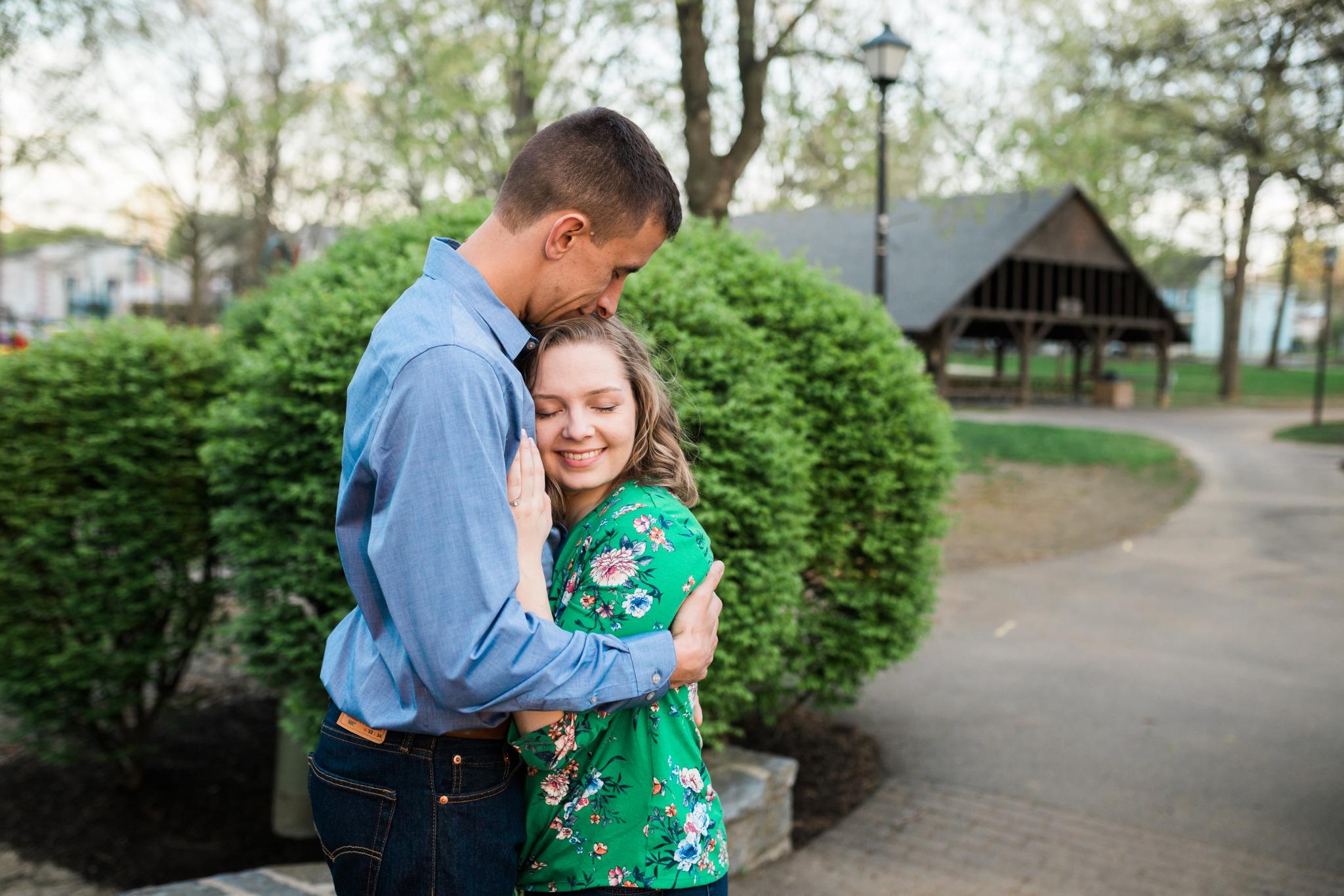 Emily Grace Photography, Lancaster PA Wedding Photograper for Non-Traditional Couples, Lititz Spring Park Engagement Photos