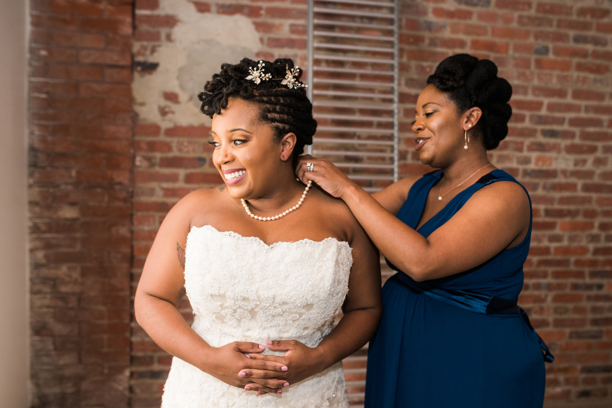 Emily Grace Photography, Lancaster PA Same Sex Wedding Photographer, The Assembly Room Lesbian Wedding Baltimore MD, Industrial Wedding Venue