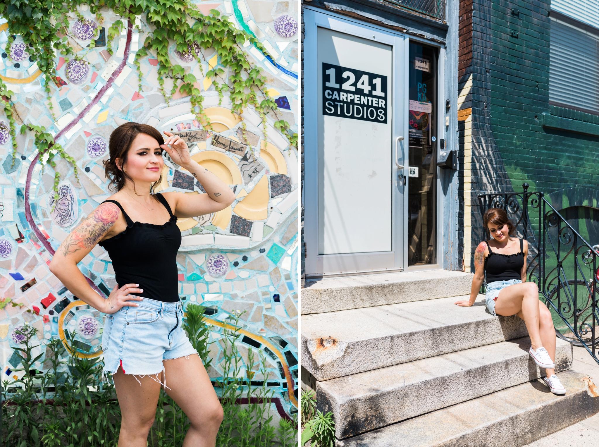 Emily Grace Photography, Lancaster PA Brand Photographer, Philly Based Artist Portrait, Ekaterina Popova, Create! Magazine, 1241 Carpenter Studios, Artspace 1241