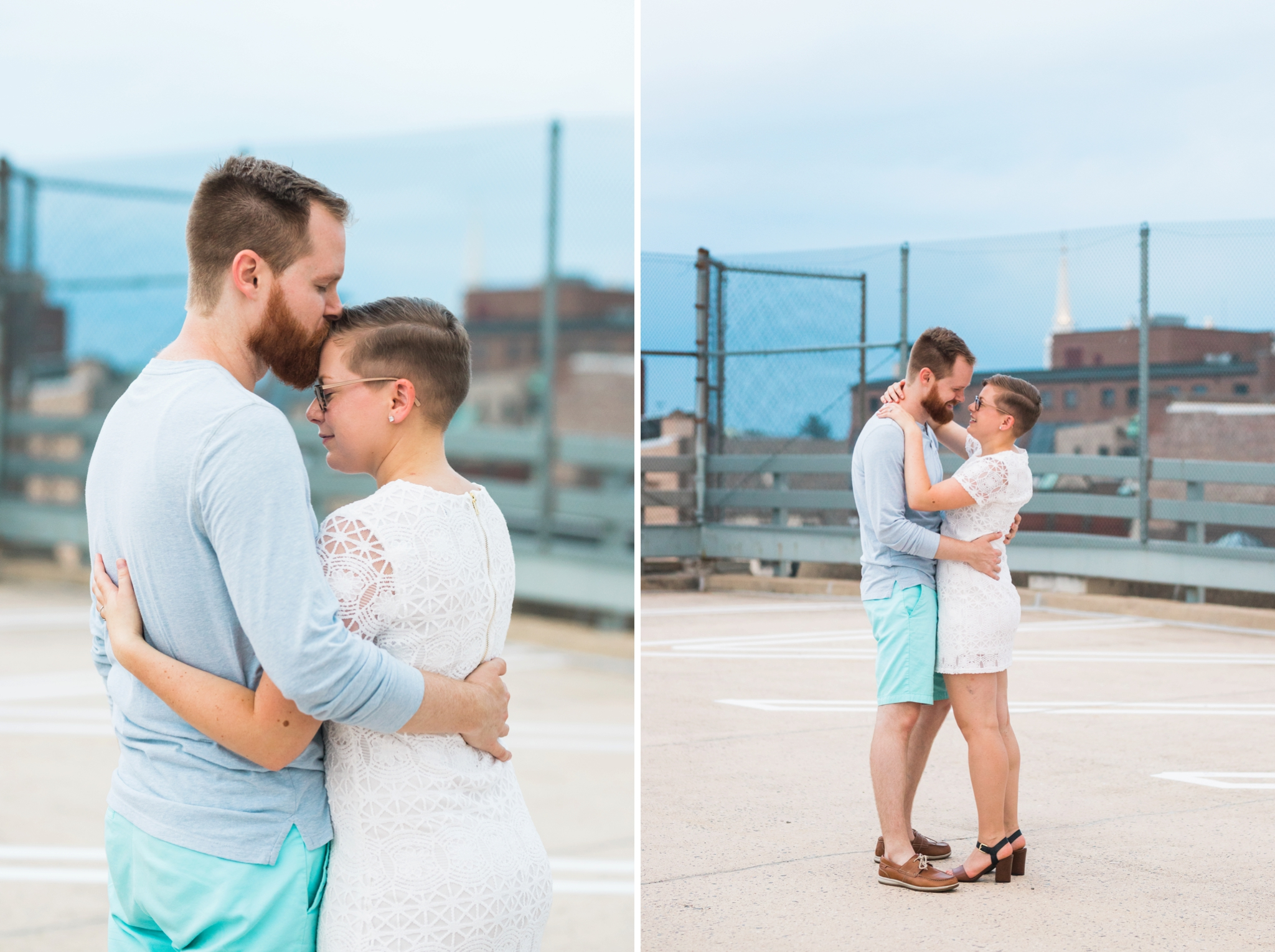 Emily Grace Photo, The Booking House Wedding, Manheim Wedding Venue, Lancaster PA Wedding Photographer, Downtown Lancaster City Engagement Session, Prince Street Garage Engagement Session