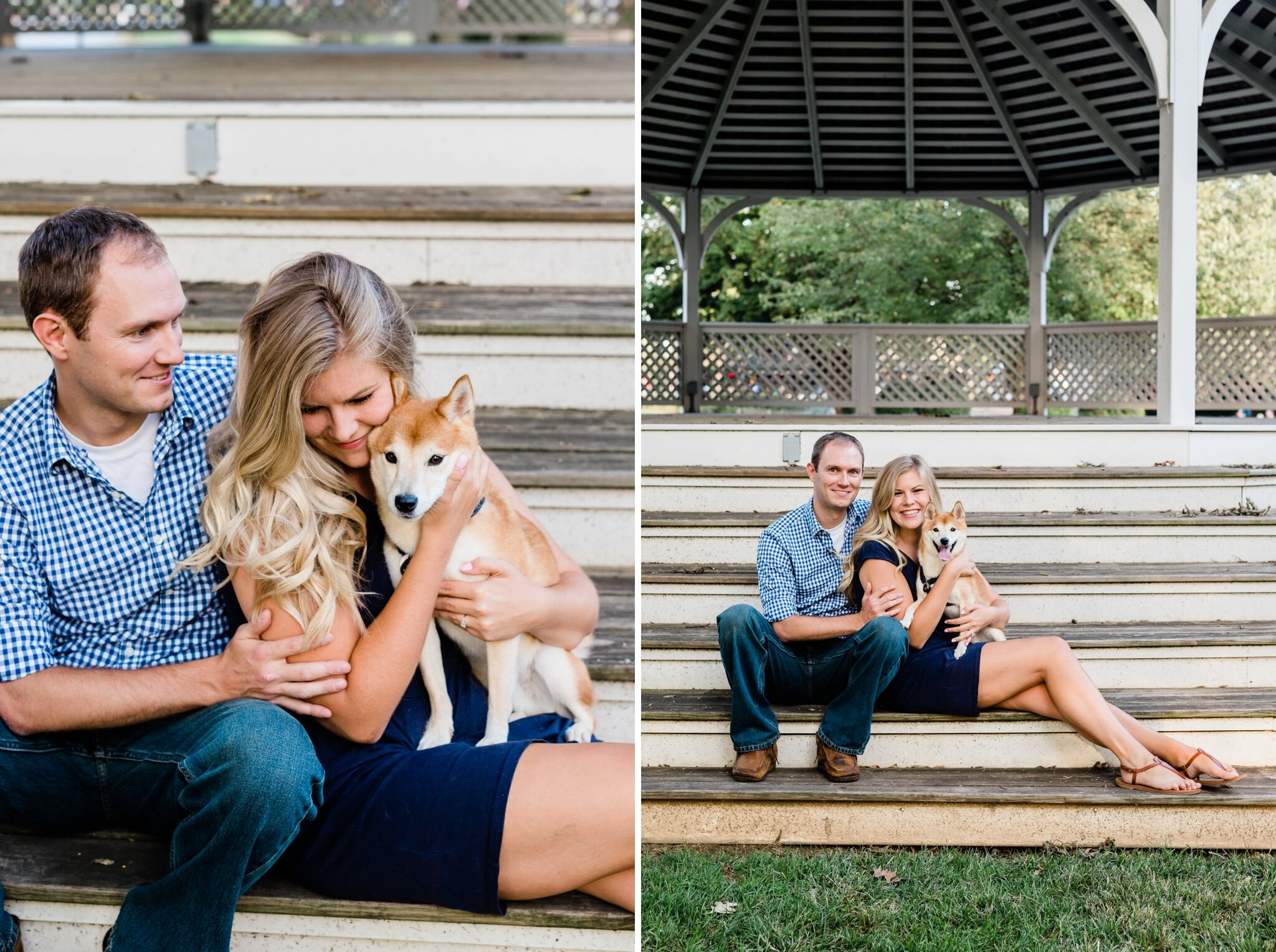 Emily Grace Photography, Lancaster PA Wedding Photographer, General Sutter Inn Wedding Venue, Lititz Wedding Venue, Lititz Springs Park Engagement Photos, Engagement Photos with Dog