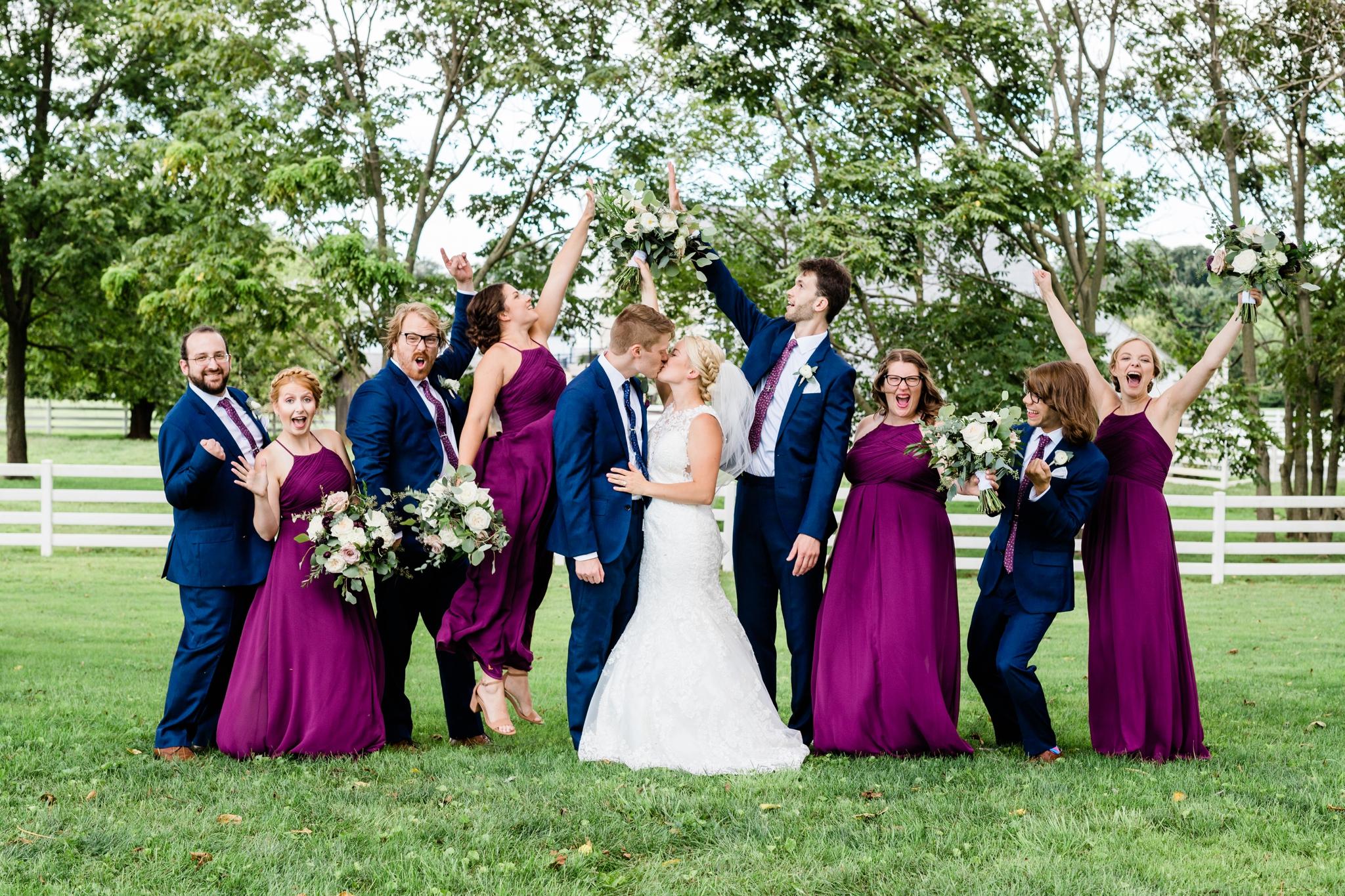 Emily Grace Photography, Lancaster PA Wedding Photographer, Wedding Photography for Unique Couples, The Barn at Silverstone, Lancaster PA Wedding Venue, The Barn at Silverstone Wedding Party Photos