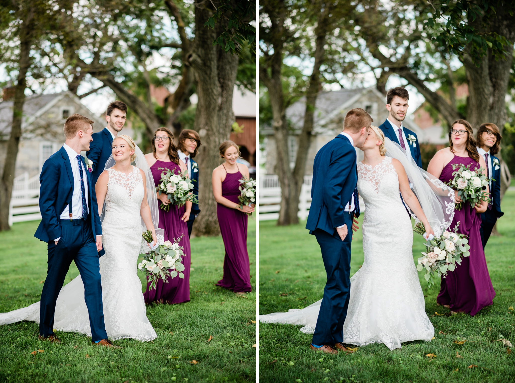 Emily Grace Photography, Lancaster PA Wedding Photographer, Wedding Photography for Unique Couples, The Barn at Silverstone, Lancaster PA Wedding Venue, The Barn at Silverstone Bridal Party Photos
