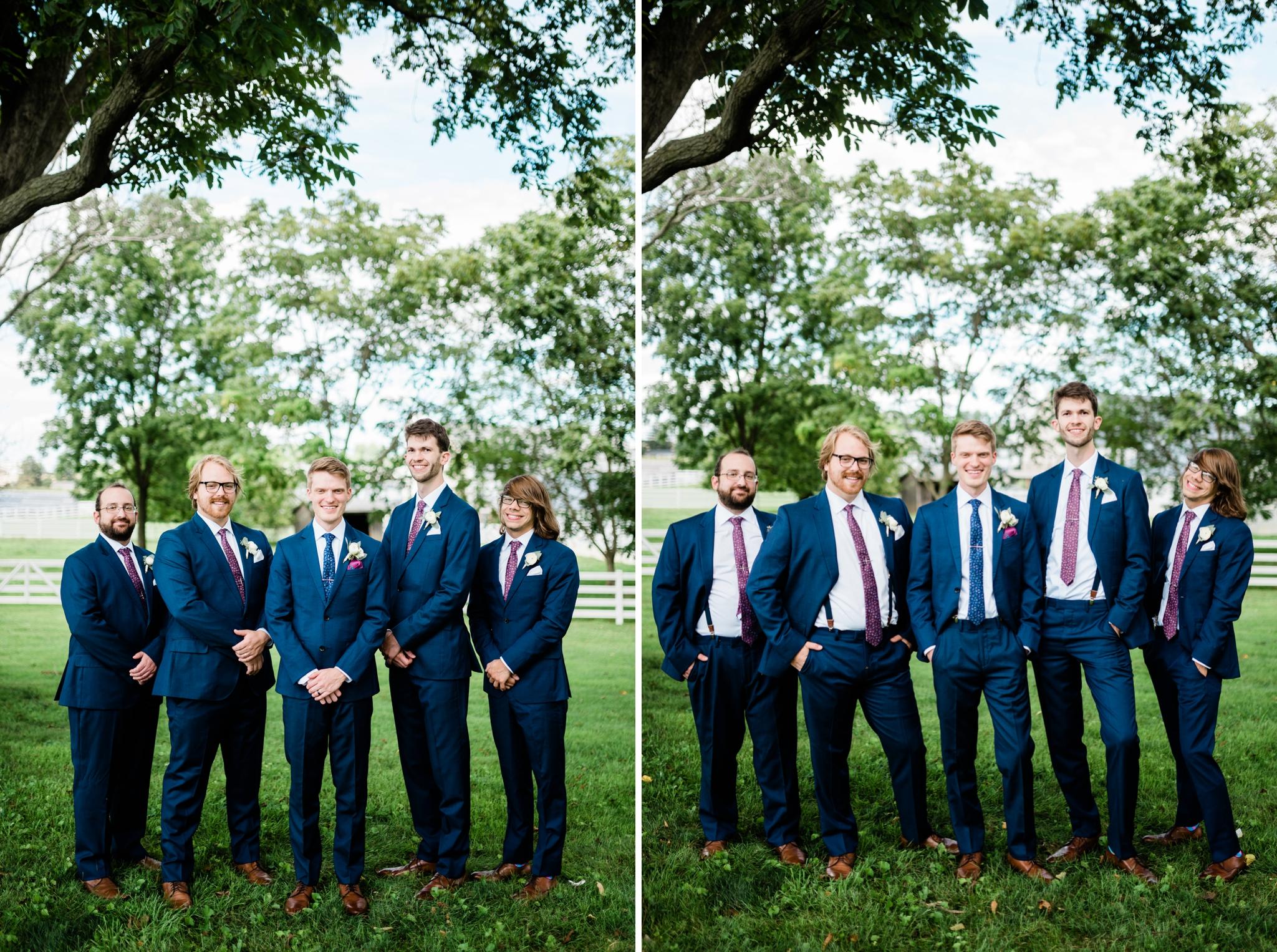 Emily Grace Photography, Lancaster PA Wedding Photographer, Wedding Photography for Unique Couples, The Barn at Silverstone, Lancaster PA Wedding Venue, The Barn at Silverstone Groomsmen Photos