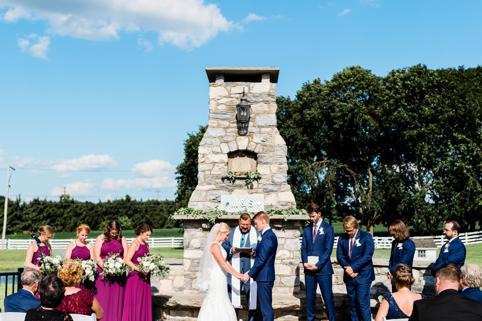 Emily Grace Photography, Lancaster PA Wedding Photographer, Wedding Photography for Unique Couples, The Barn at Silverstone, Lancaster PA Wedding Venue, The Barn at Silverstone Ceremony