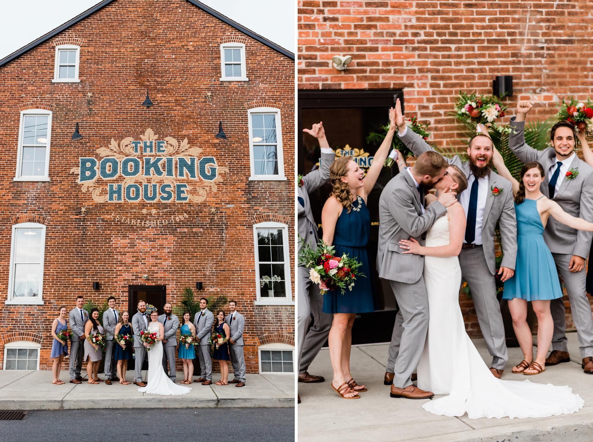 Emily Grace Photography, Lancaster PA Wedding Photographer, The Booking House Wedding Venue, Manheim PA Wedding Venue, The Booking House Manheim Wedding Party Photos, Central PA Wedding Photographer