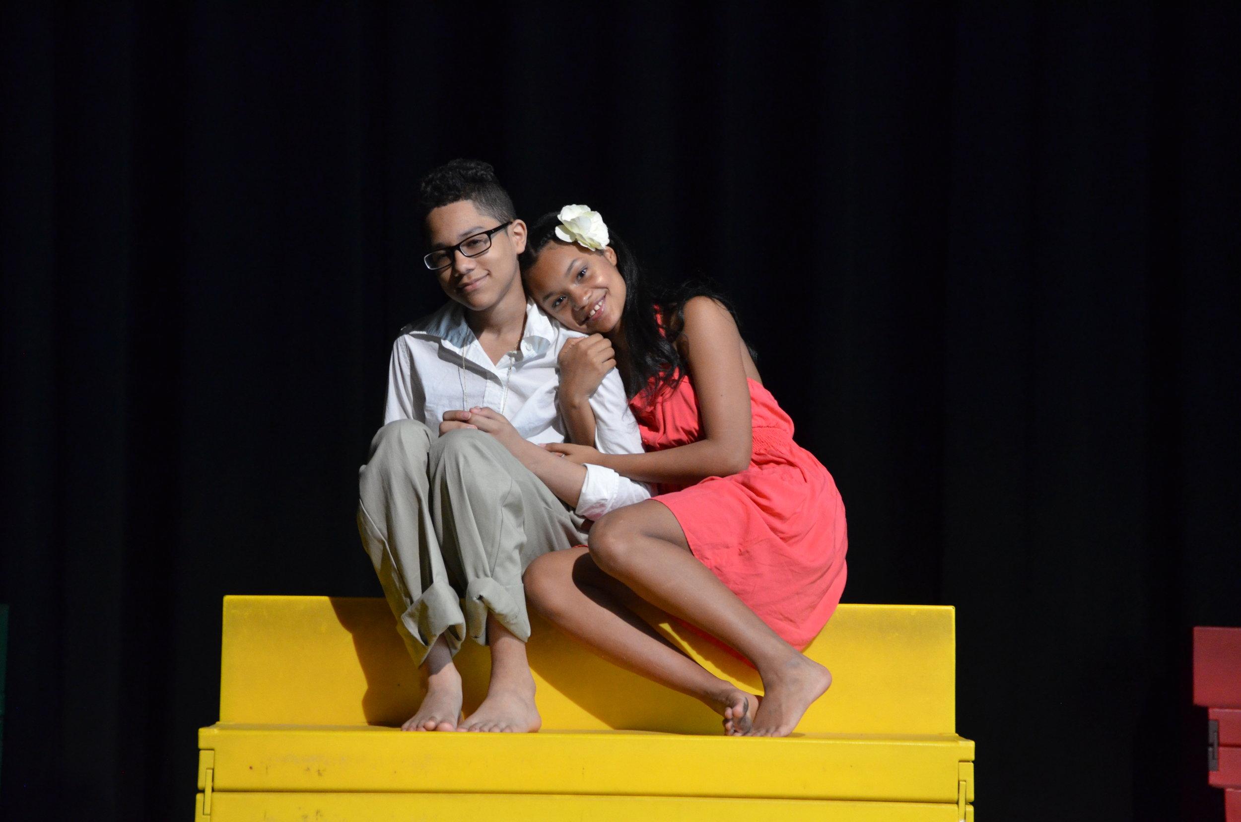 Ti Moune and her Daniel.