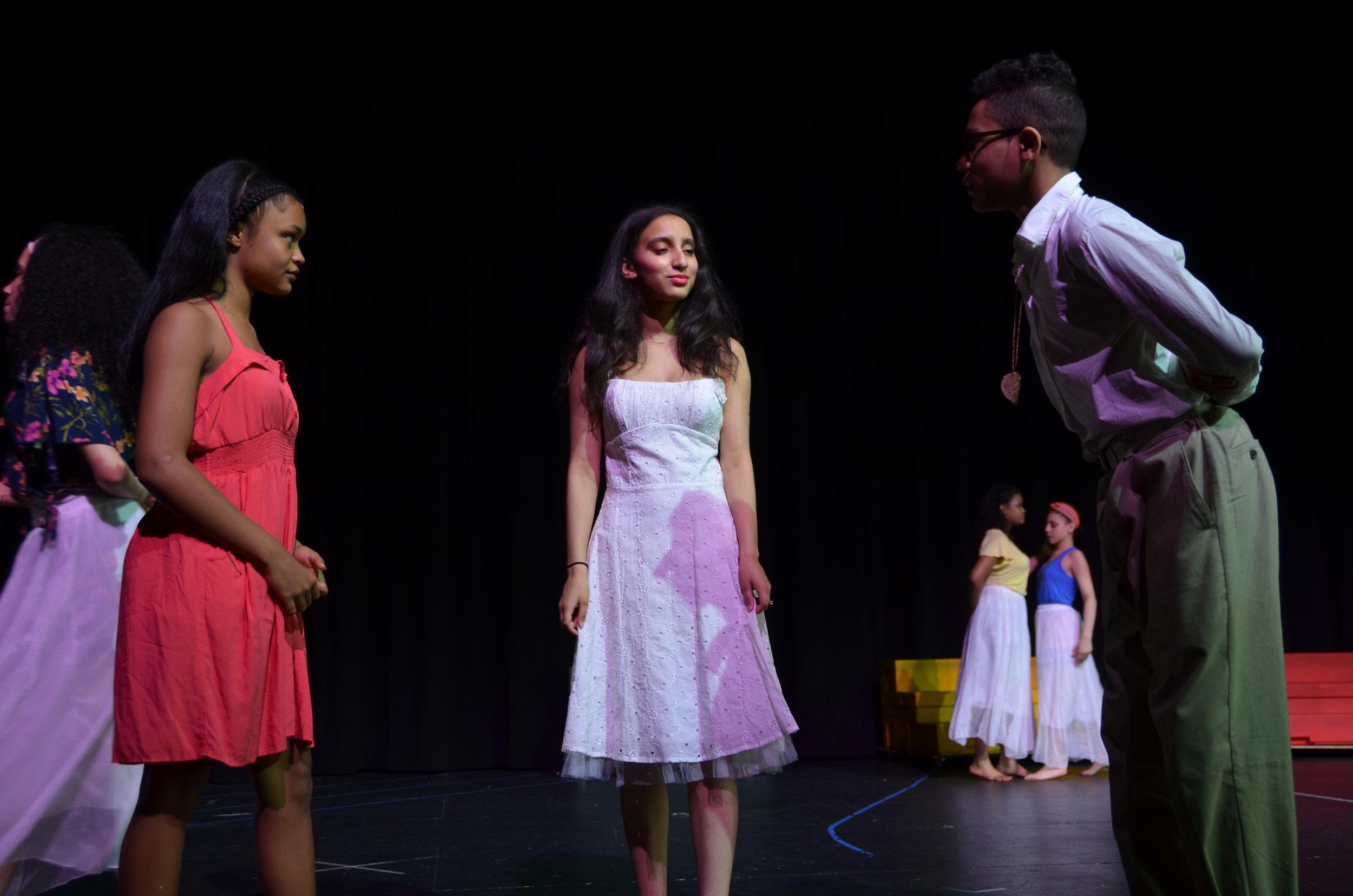 Ti Moune, Andrea, and Daniel