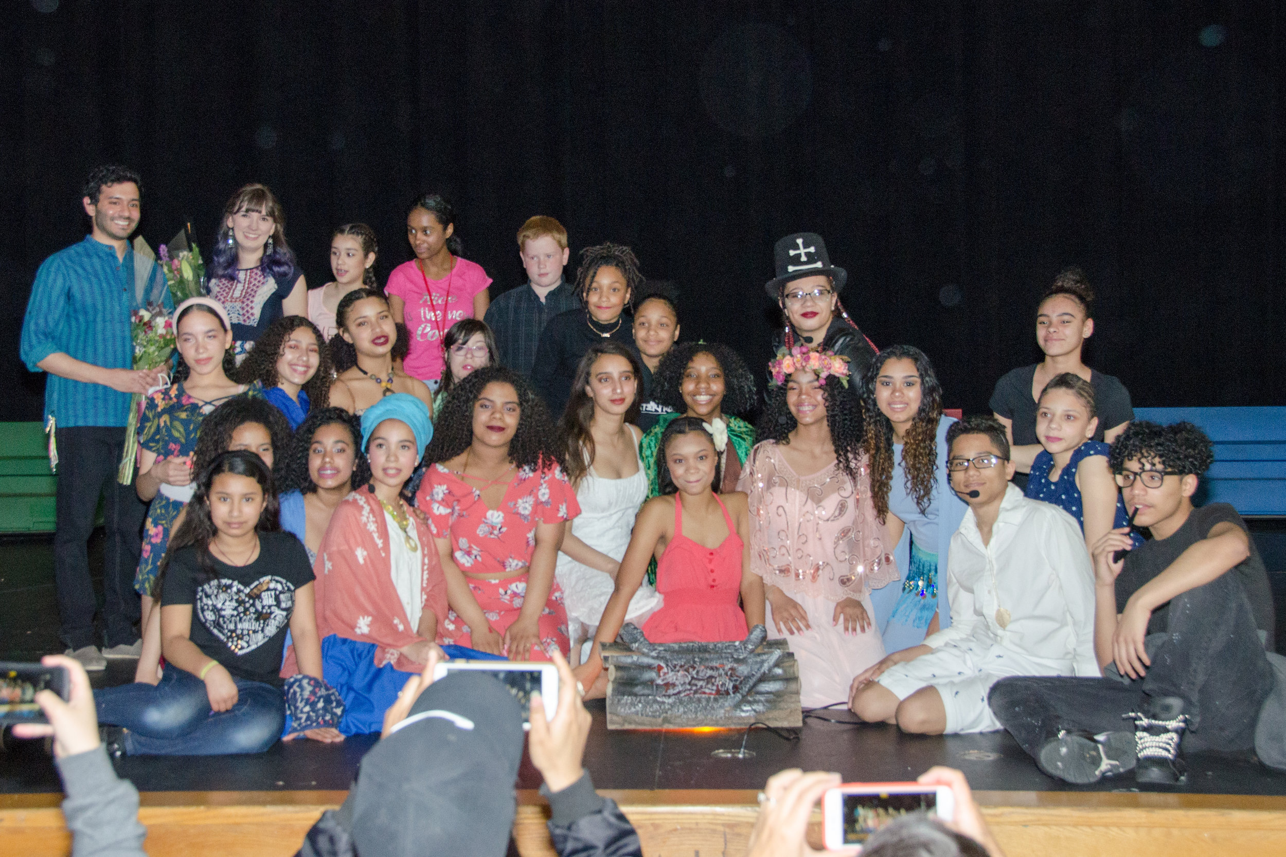 "The Full Cast and Crew of ""Once on This Island, Jr."""