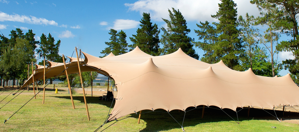Versatile party spaces with our bedouin tents
