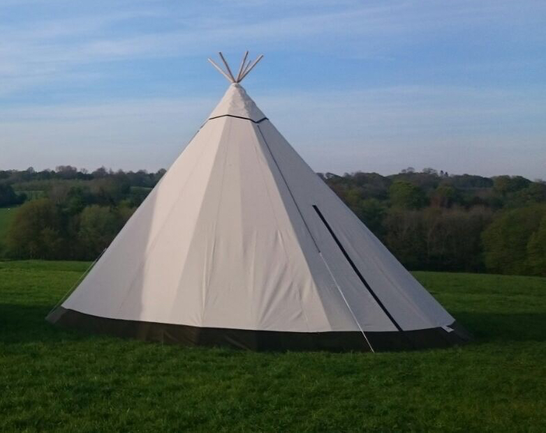 Cirrus 40 tipi hire for weddings, parties and corporate events